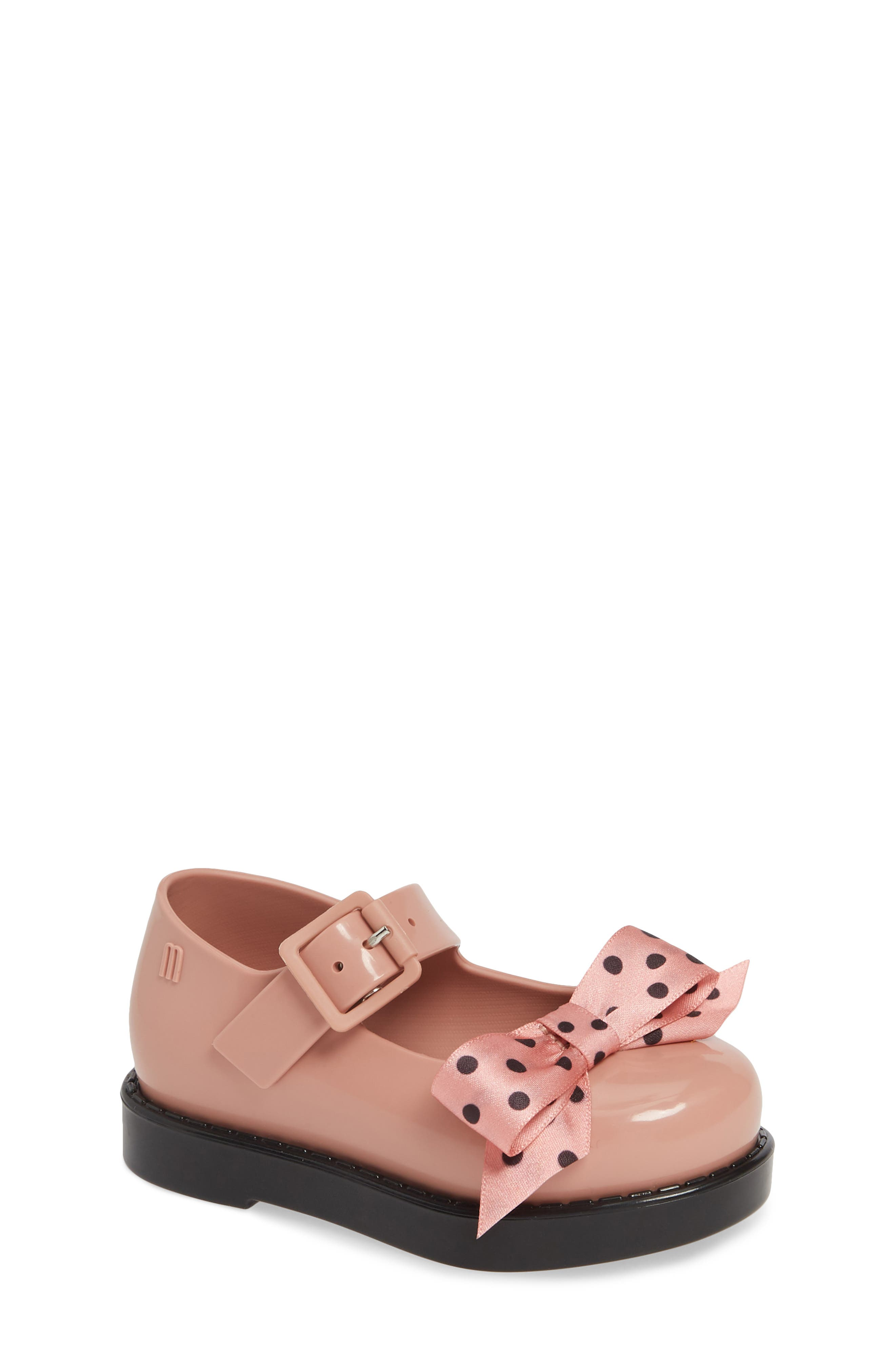 Maggie Mary Jane Flat,                             Main thumbnail 1, color,                             PINK BLACK