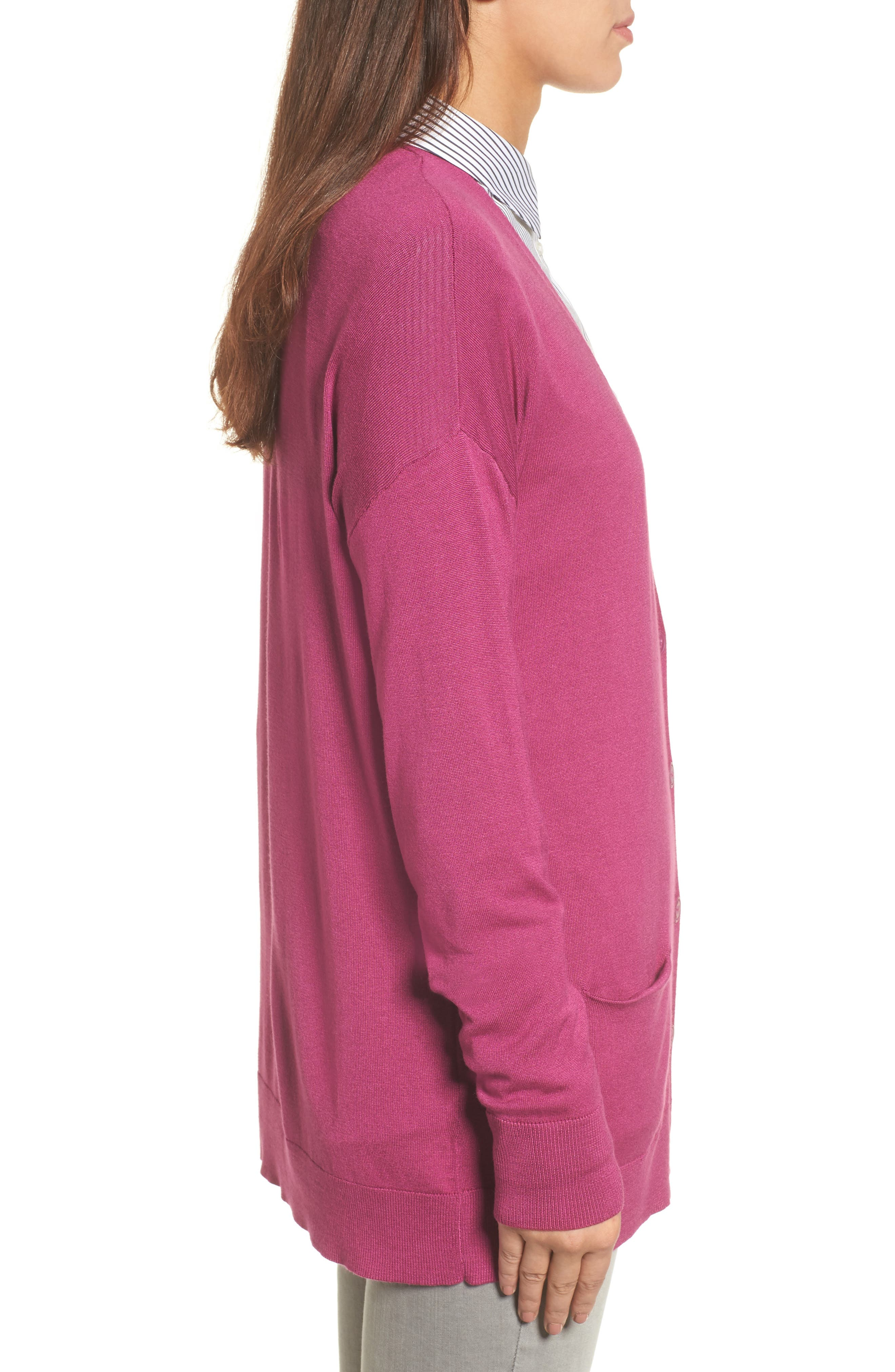 Relaxed Pocket Cardigan,                             Alternate thumbnail 25, color,