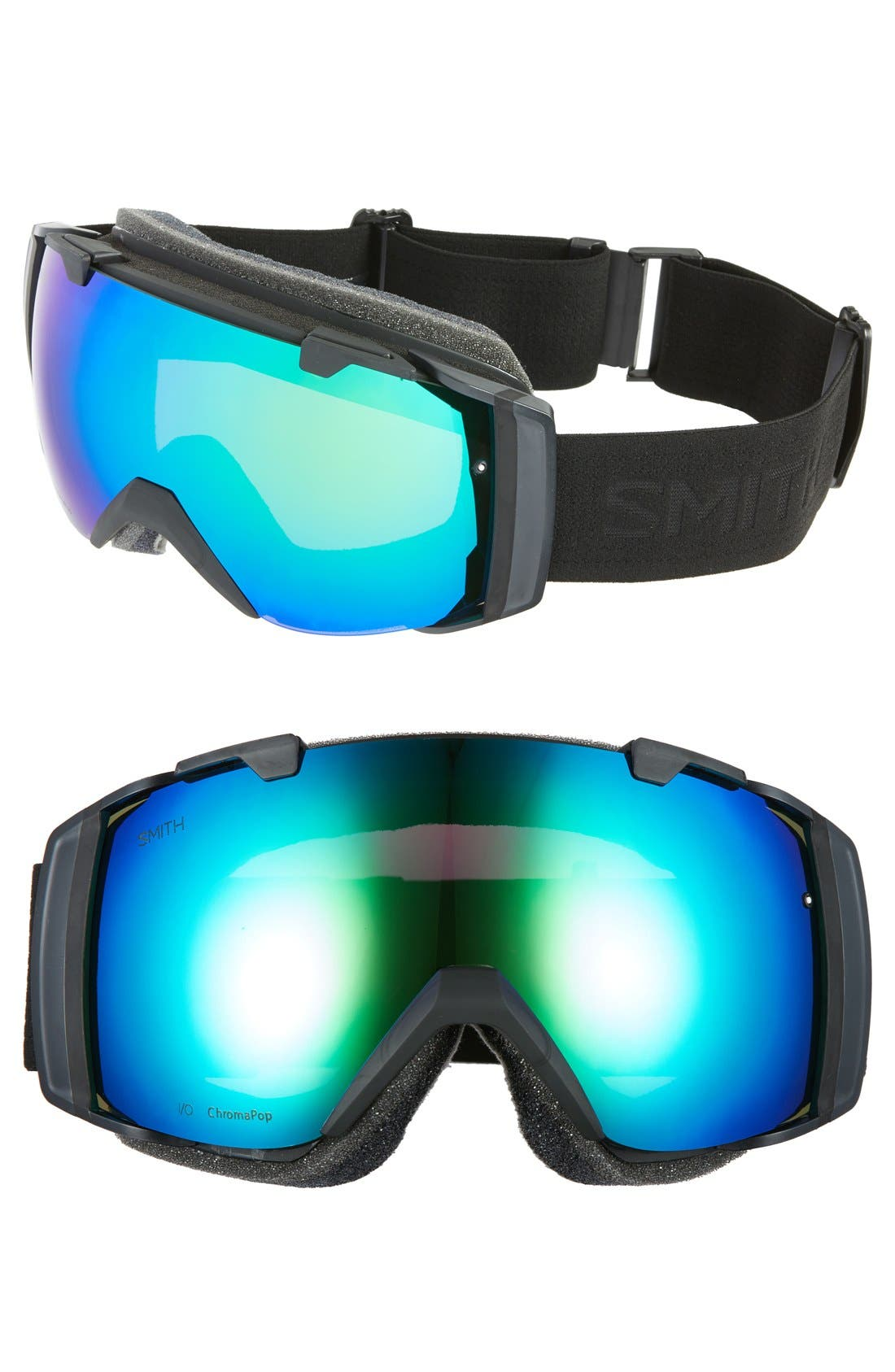 I/O 205mm Snow Goggles,                             Main thumbnail 1, color,                             001