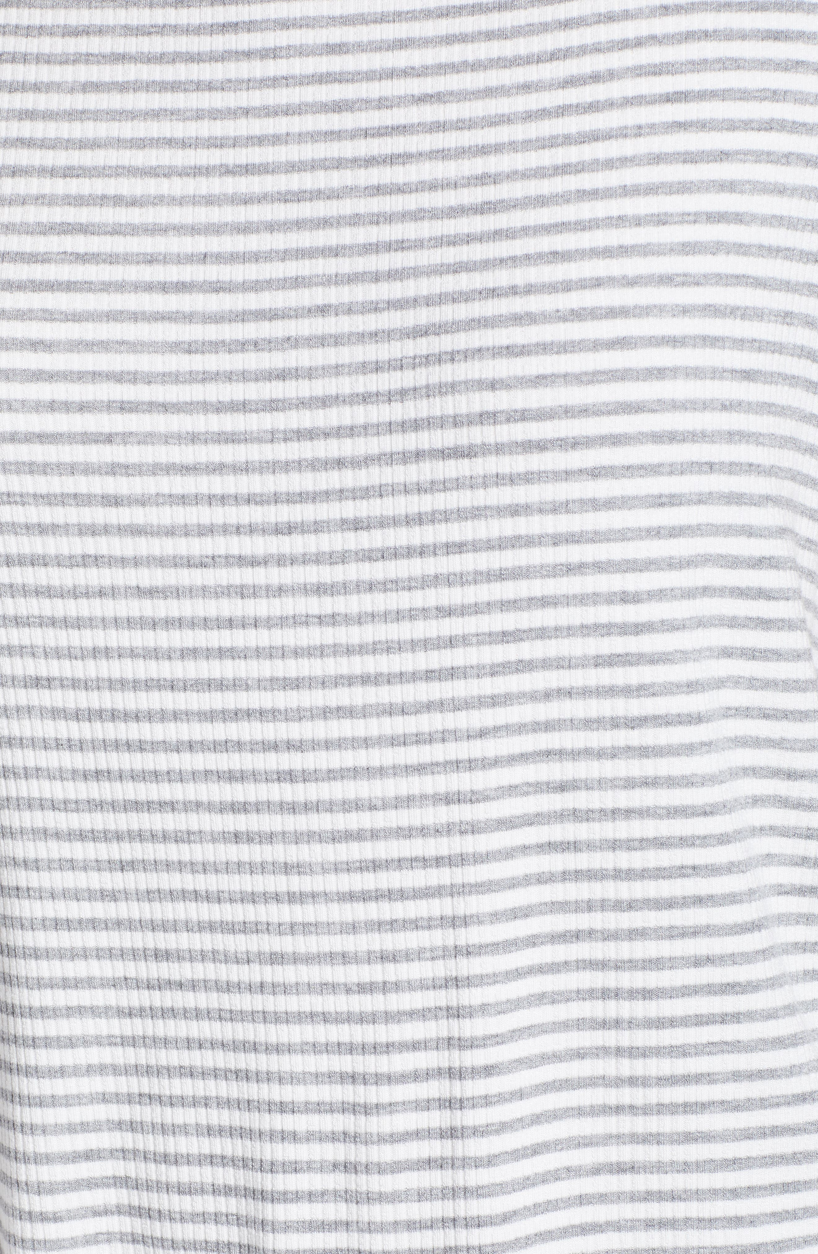 Ruffle Sleeve Rib Knit Top,                             Alternate thumbnail 10, color,
