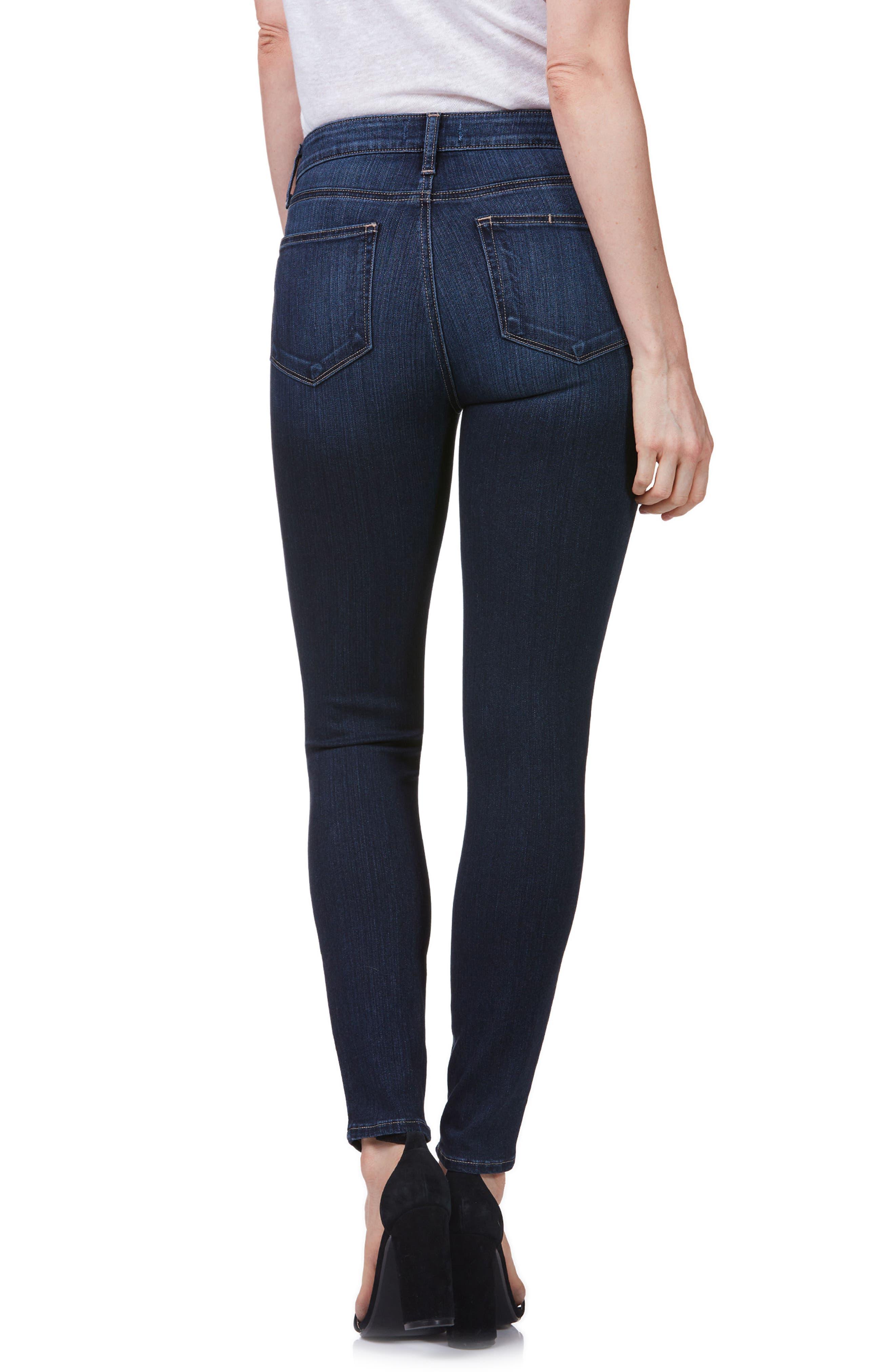 Hoxton High Waist Ultra Skinny Jeans,                             Alternate thumbnail 2, color,                             400