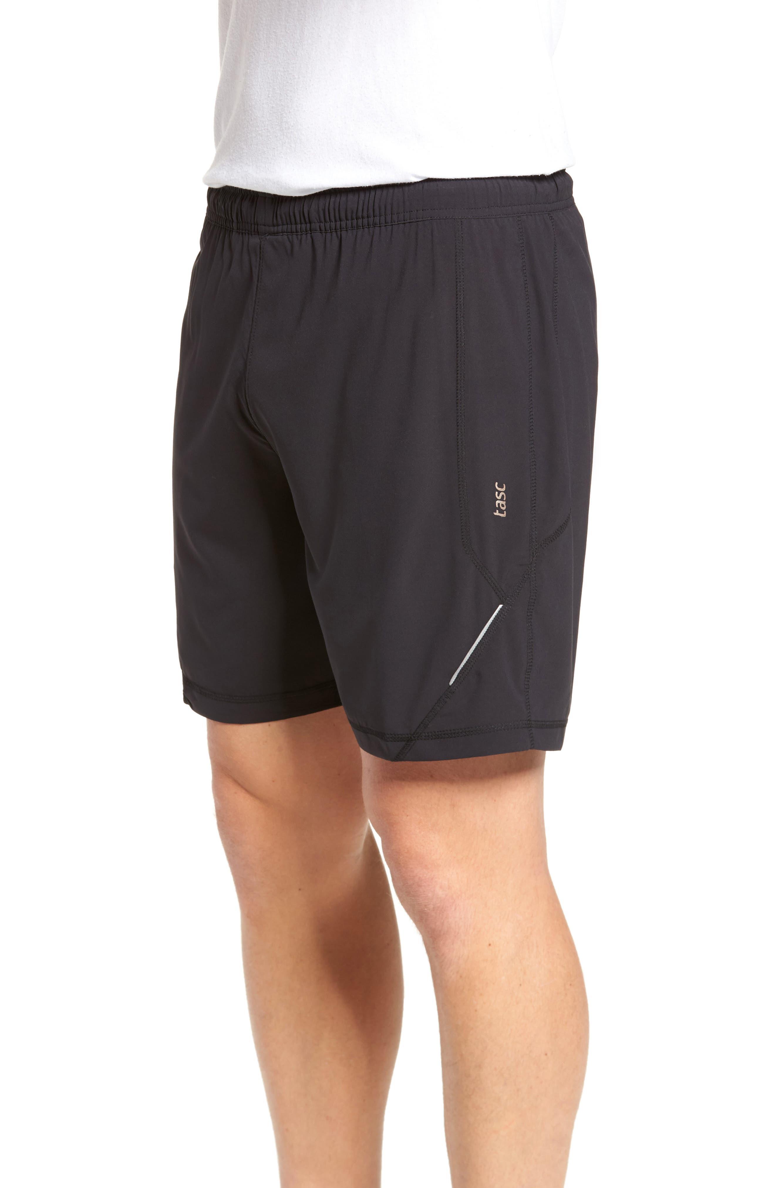 Propulsion Athletic Shorts,                             Alternate thumbnail 3, color,                             BLACK