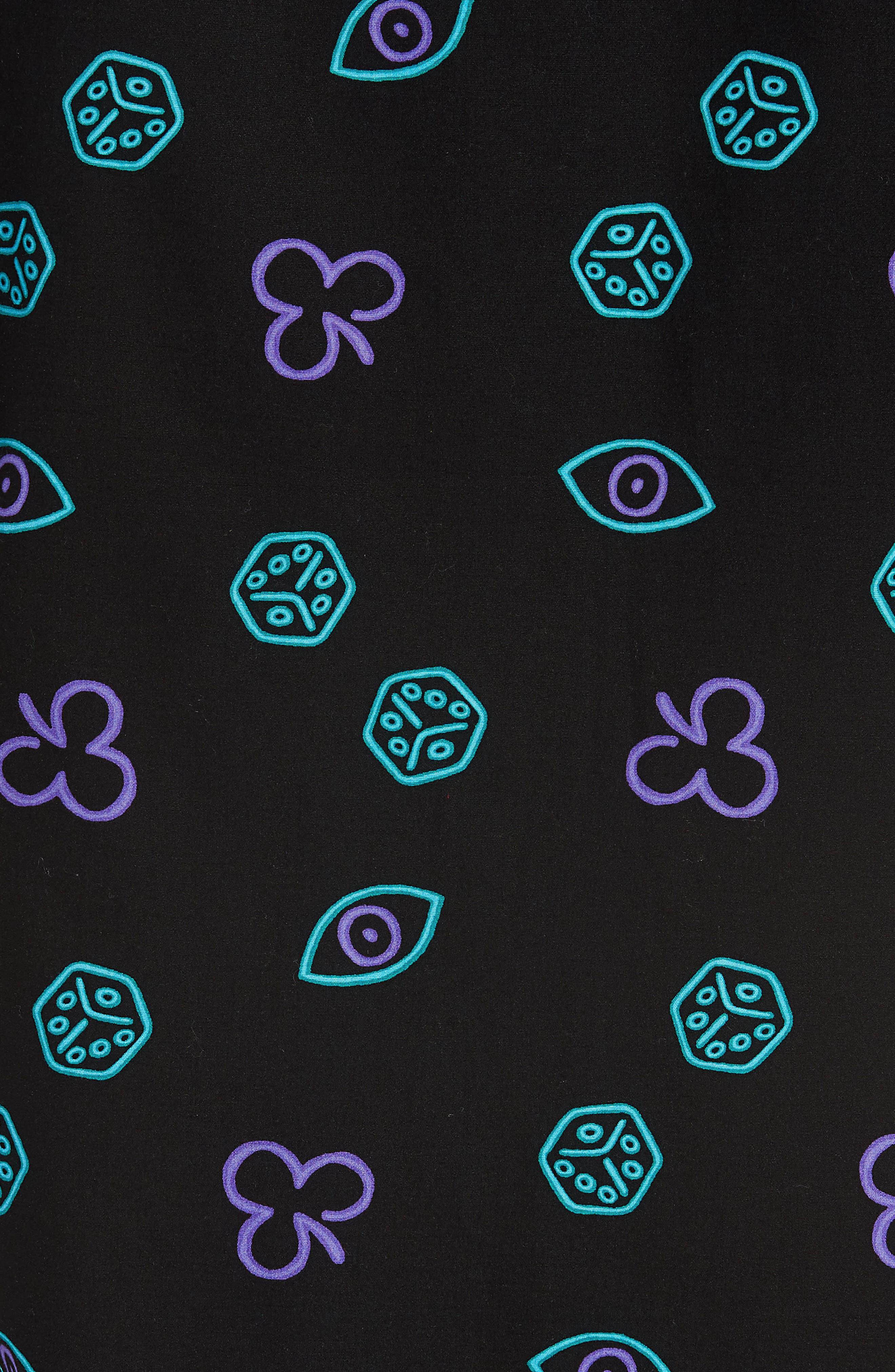 Short Sleeve Print Poplin Shirt,                             Alternate thumbnail 22, color,