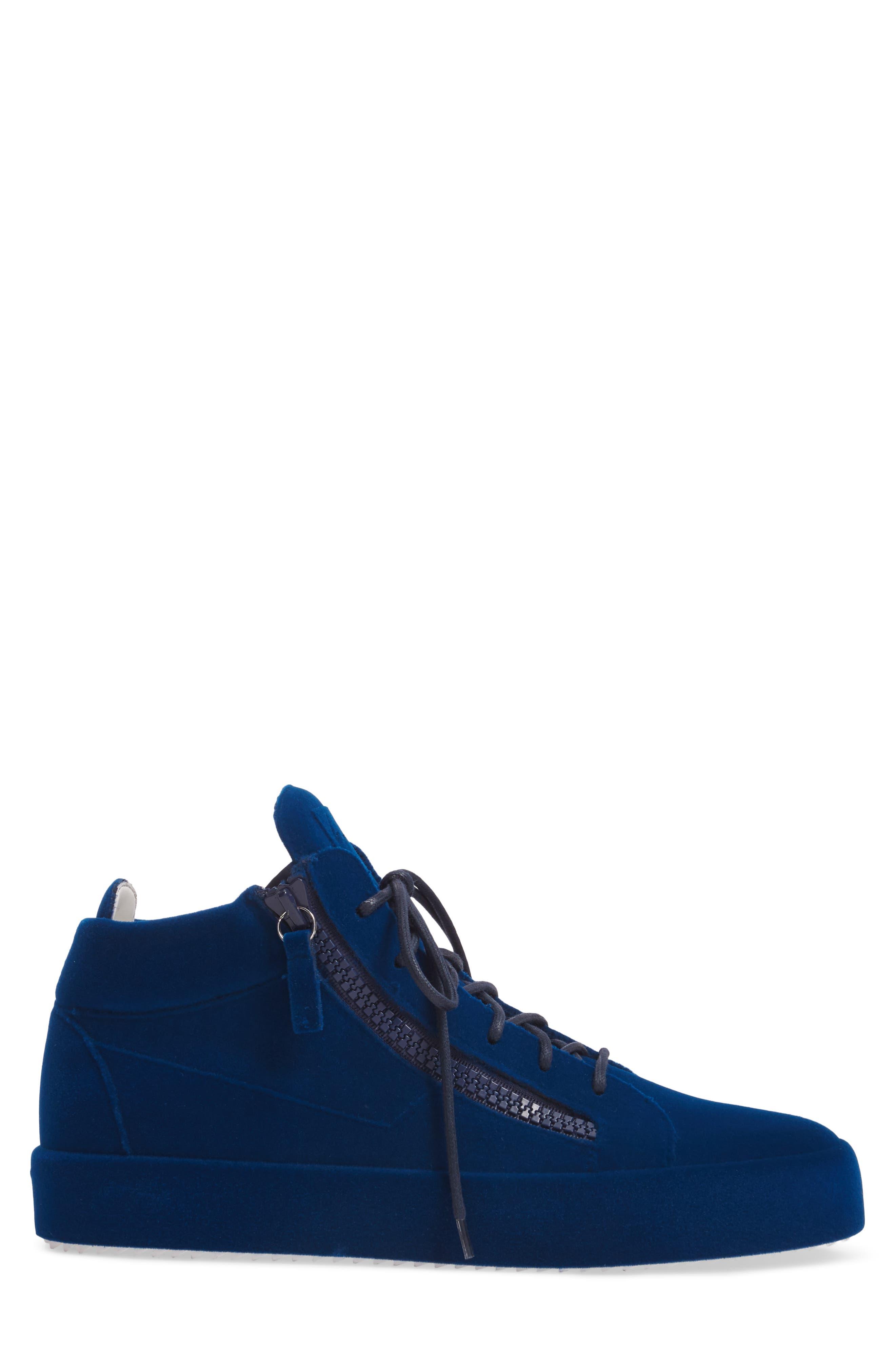 Mid Top Sneaker,                             Alternate thumbnail 3, color,                             469