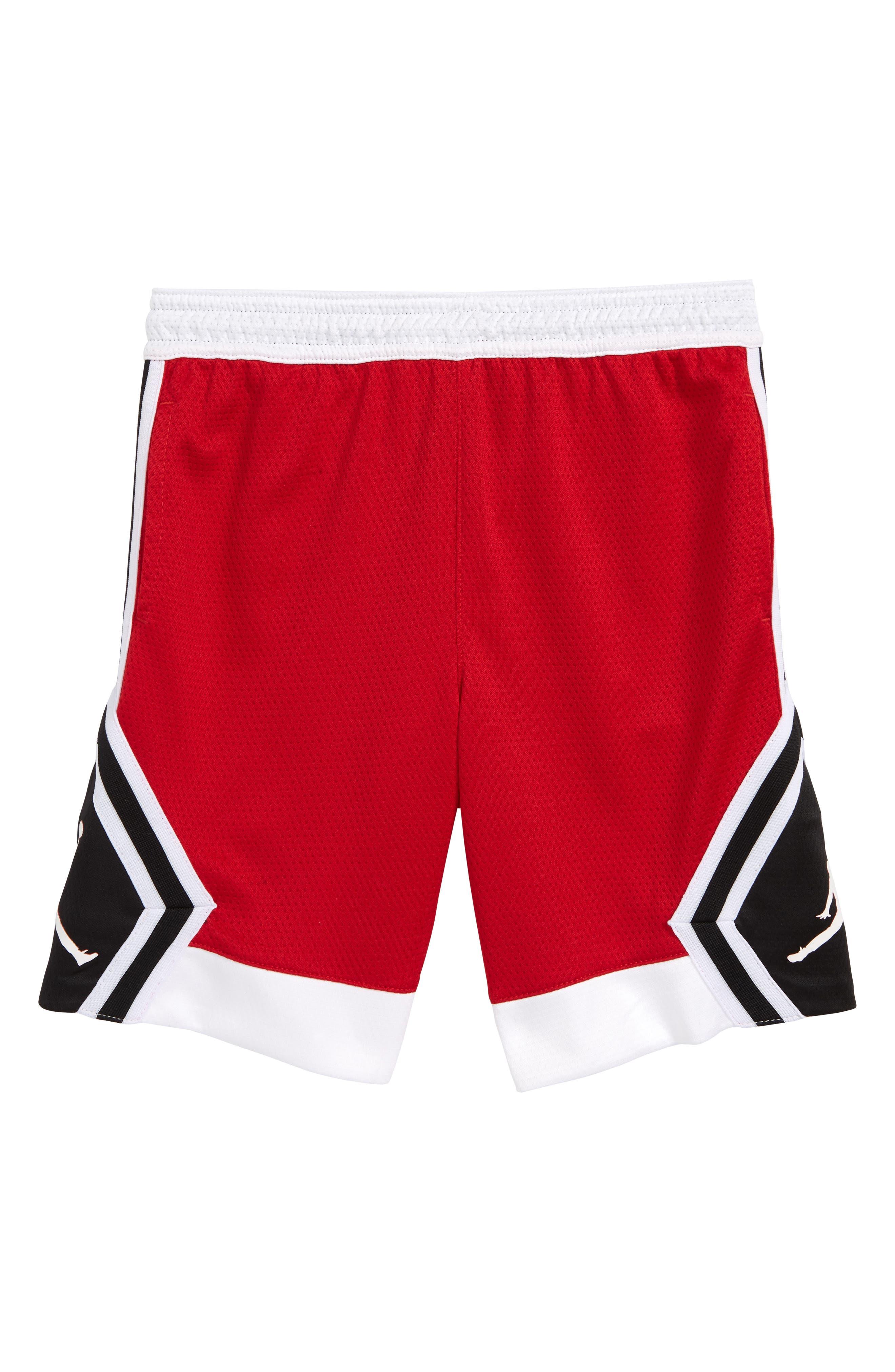 Jordan Rise Diamond Short,                         Main,                         color, GYM RED