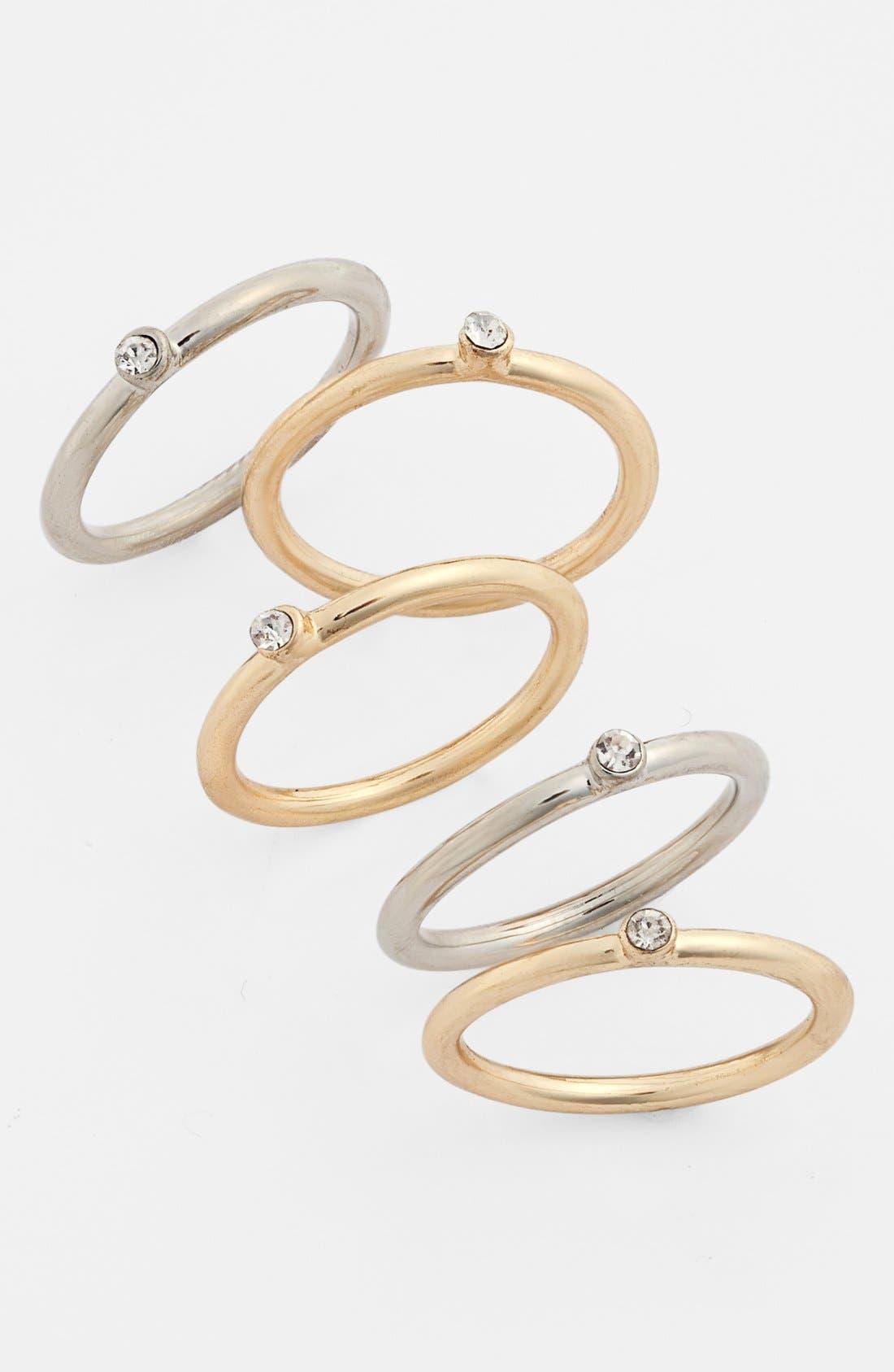 BP. Stackable Rings, Main, color, 710