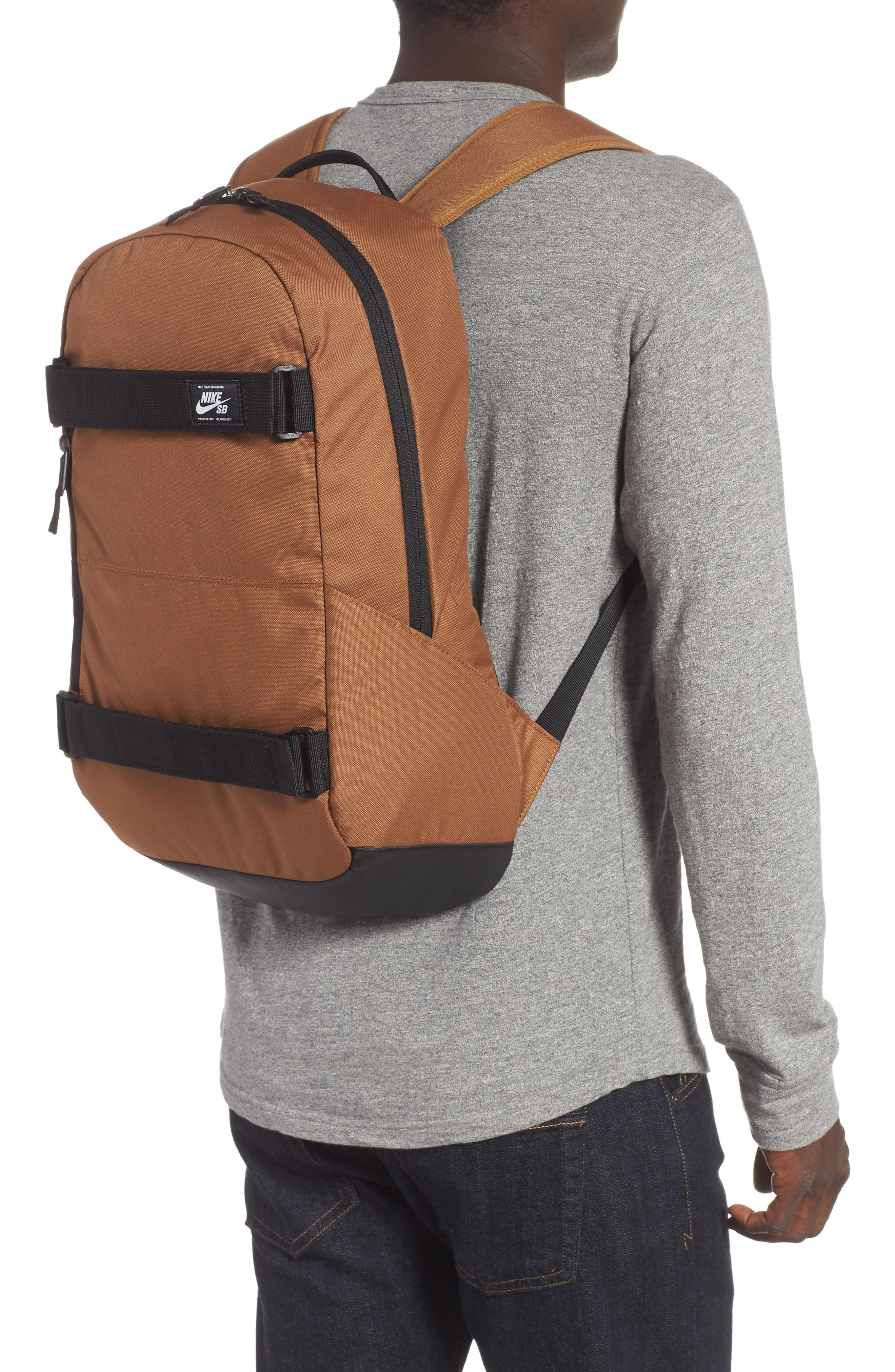 Courthouse Backpack,                             Alternate thumbnail 2, color,                             ALE BROWN