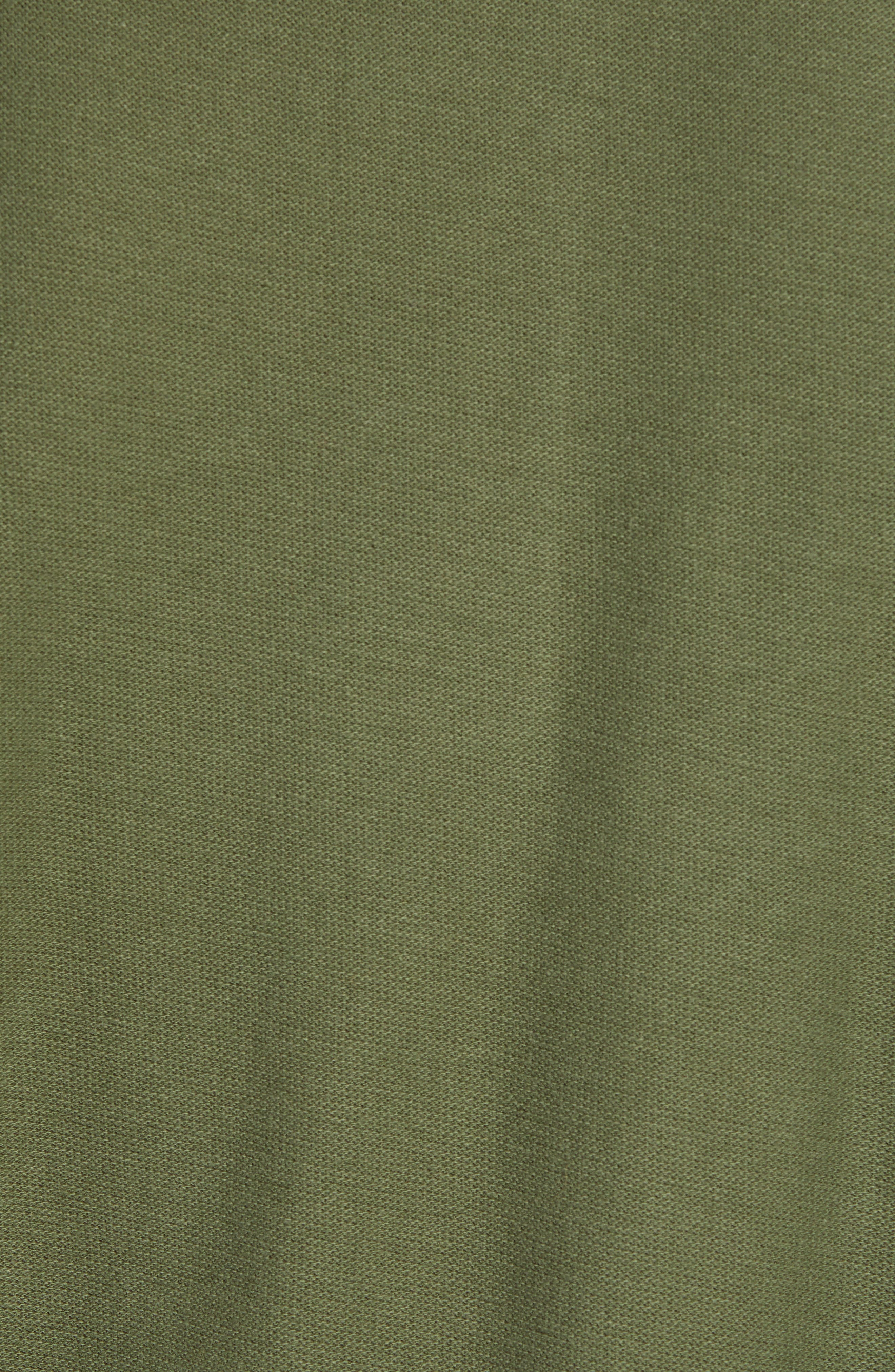 Solid Polo,                             Alternate thumbnail 5, color,                             INFANTRY GREEN