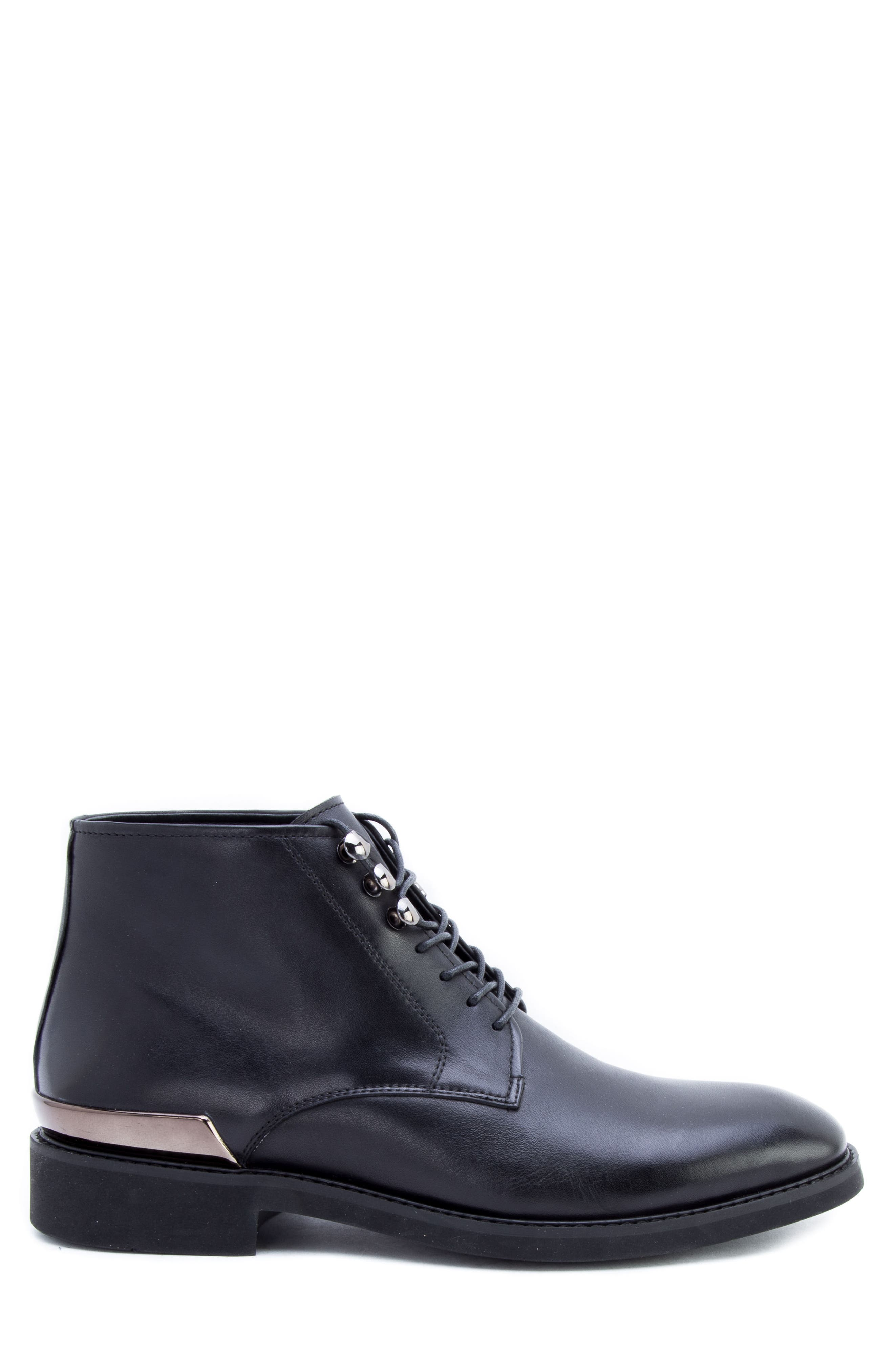 Soland Boot,                             Alternate thumbnail 3, color,                             BLACK LEATHER