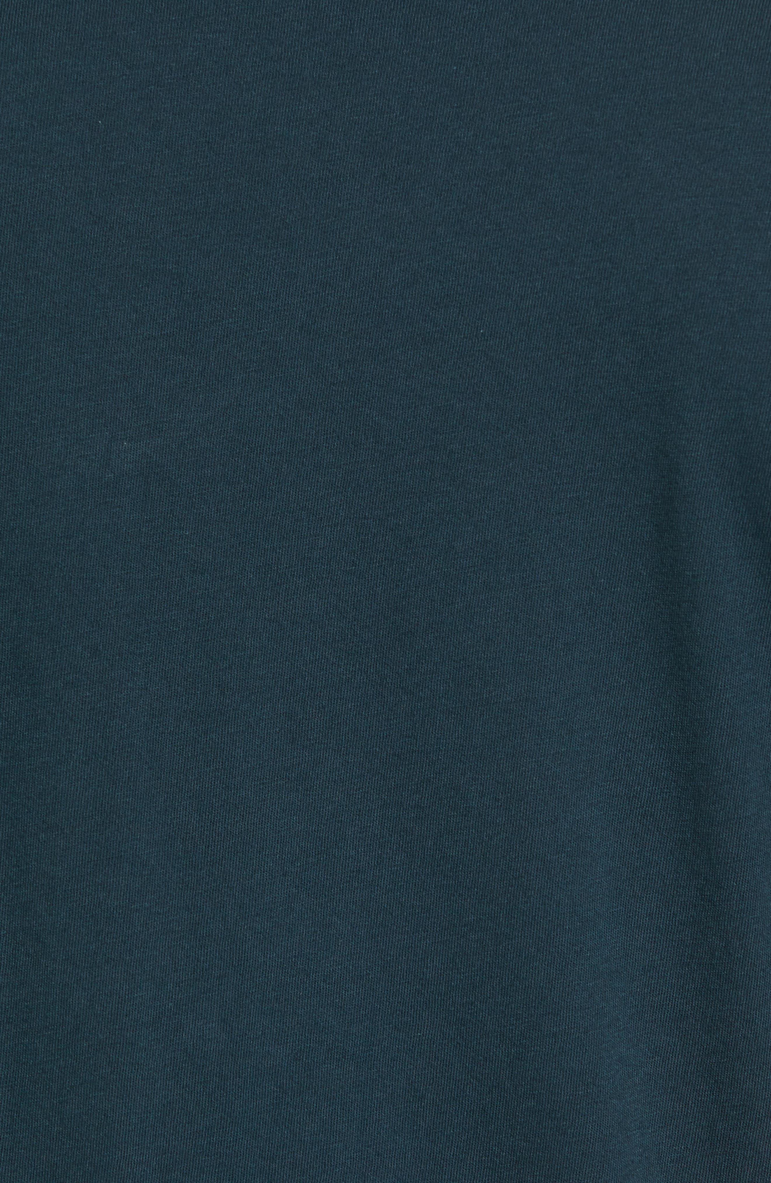 Crewneck Jersey T-Shirt,                             Alternate thumbnail 433, color,