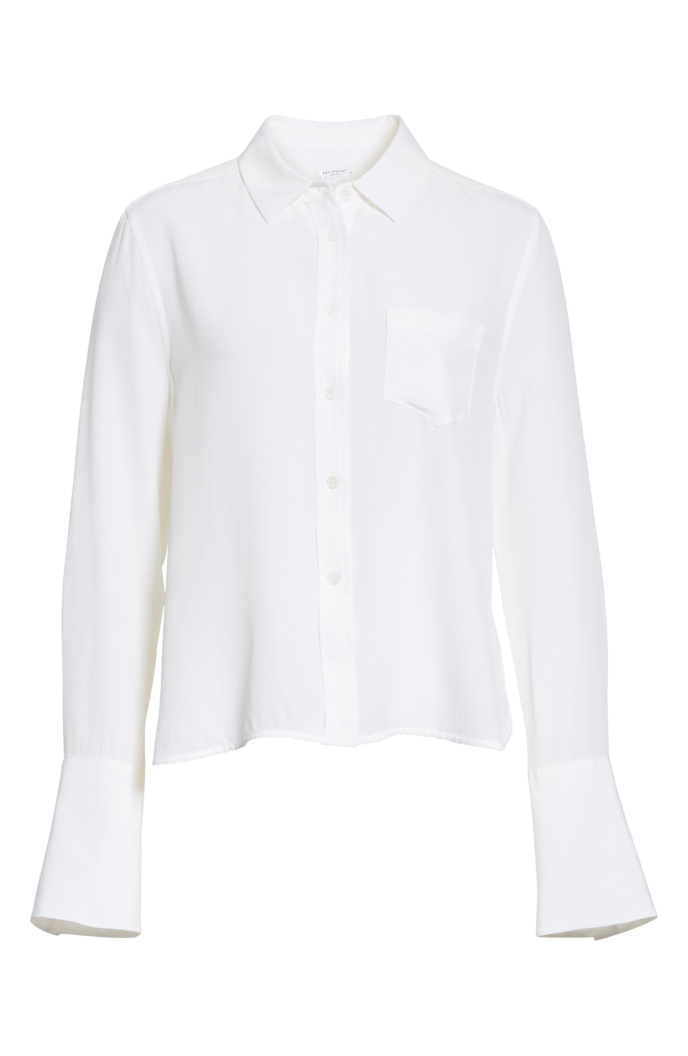 Darla Bell Cuff Shirt,                             Alternate thumbnail 17, color,