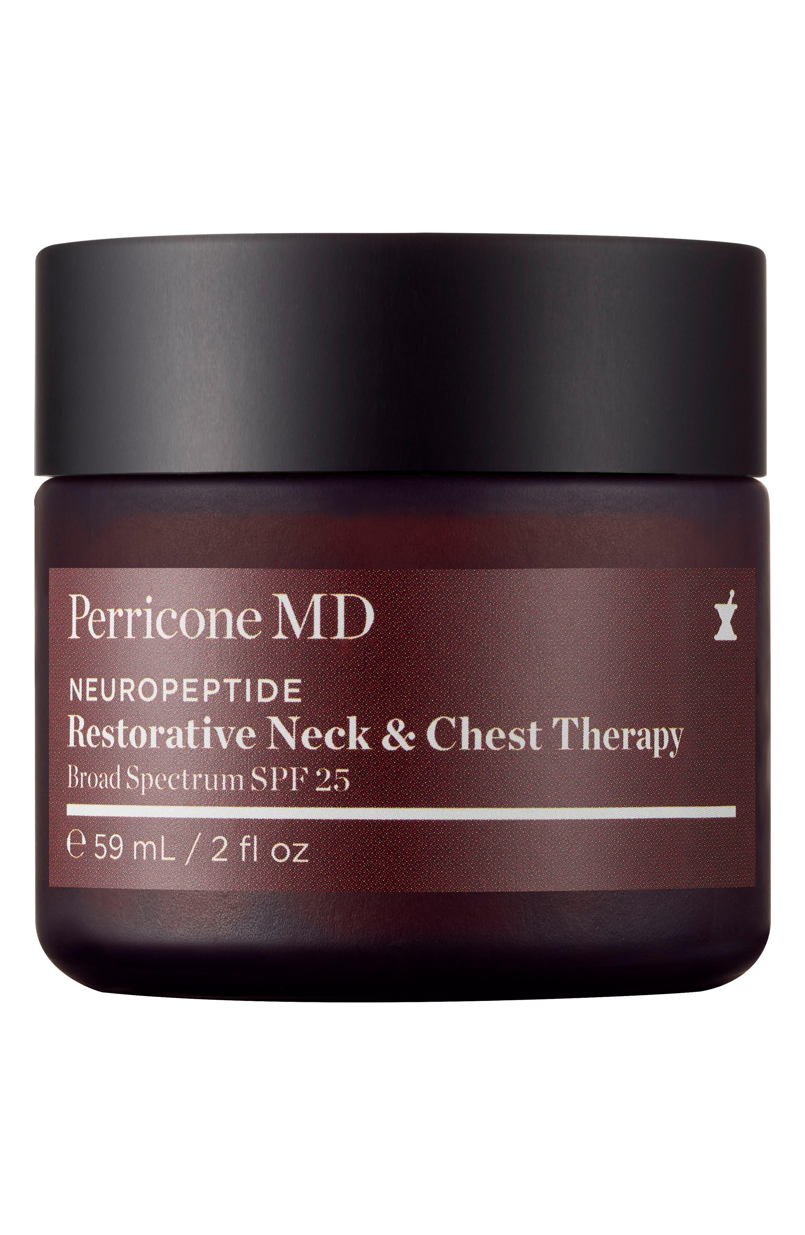 Neuropeptide Restorative Neck & Chest Therapy SPF 25,                         Main,                         color,