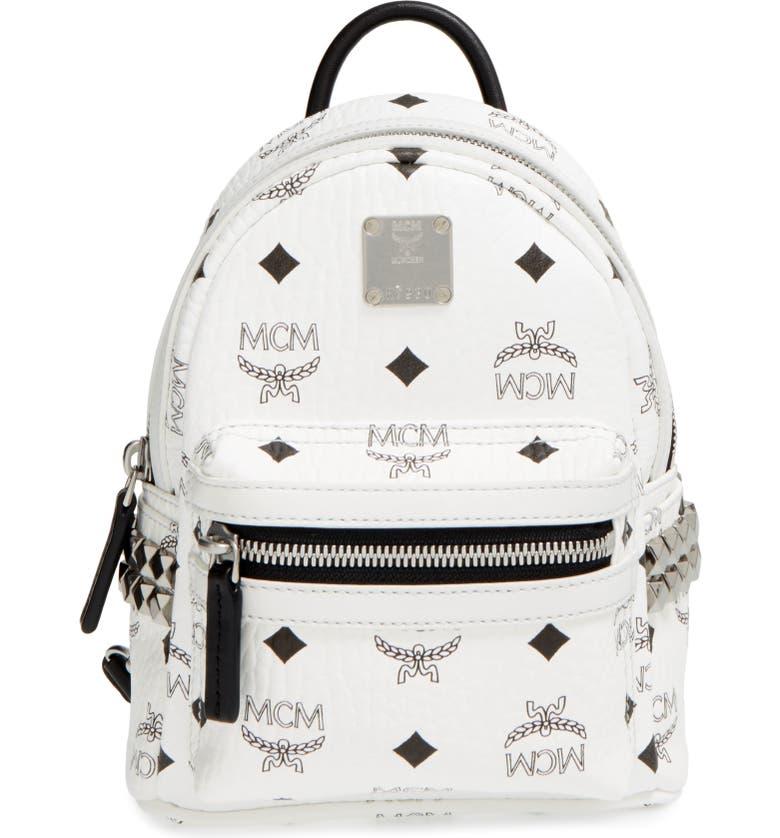 MCM  X-Mini Stark Side Stud  Convertible Backpack  d04c9c9e78f67