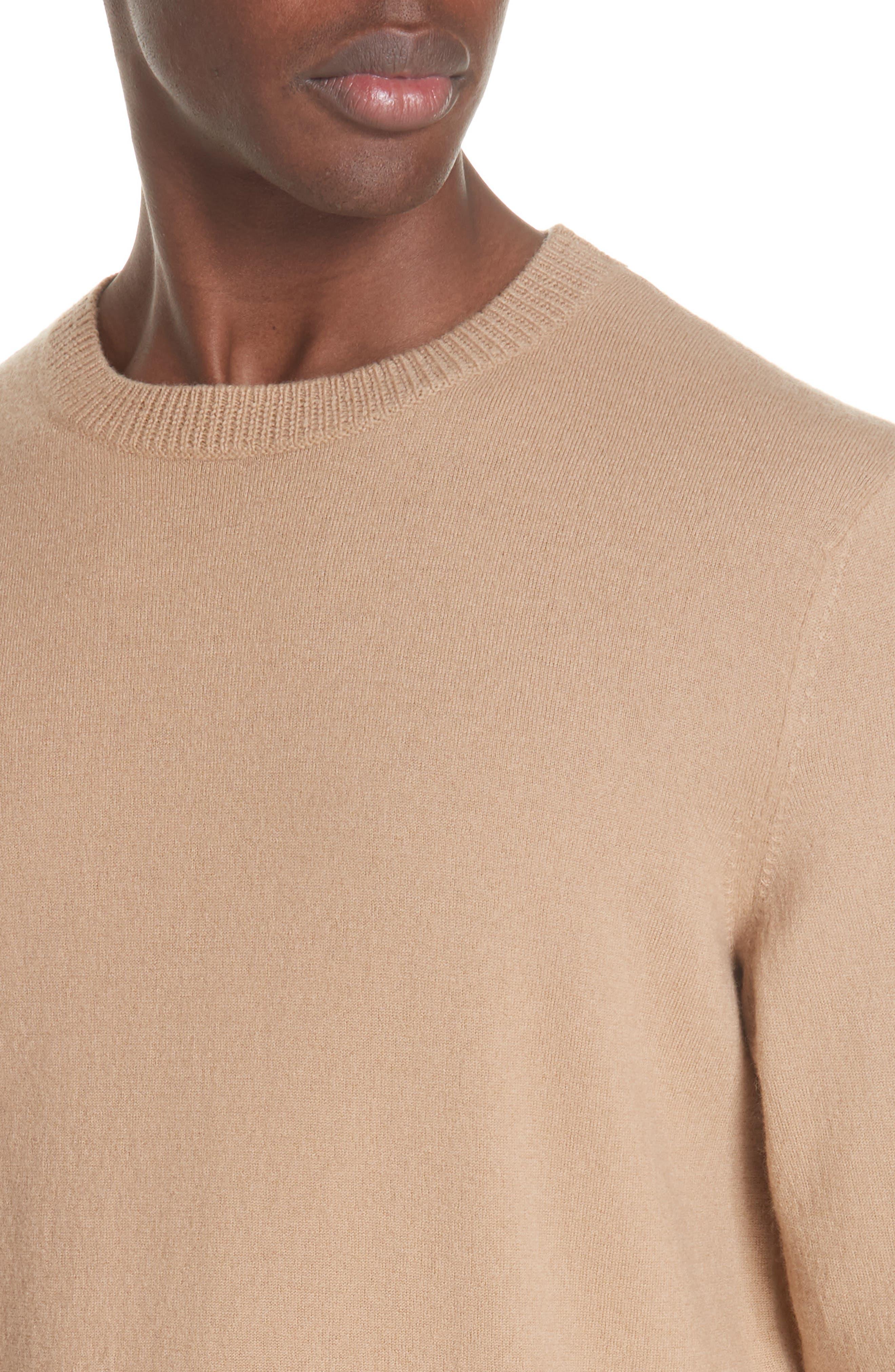 Merino Wool Crewneck Sweater,                             Alternate thumbnail 4, color,                             240
