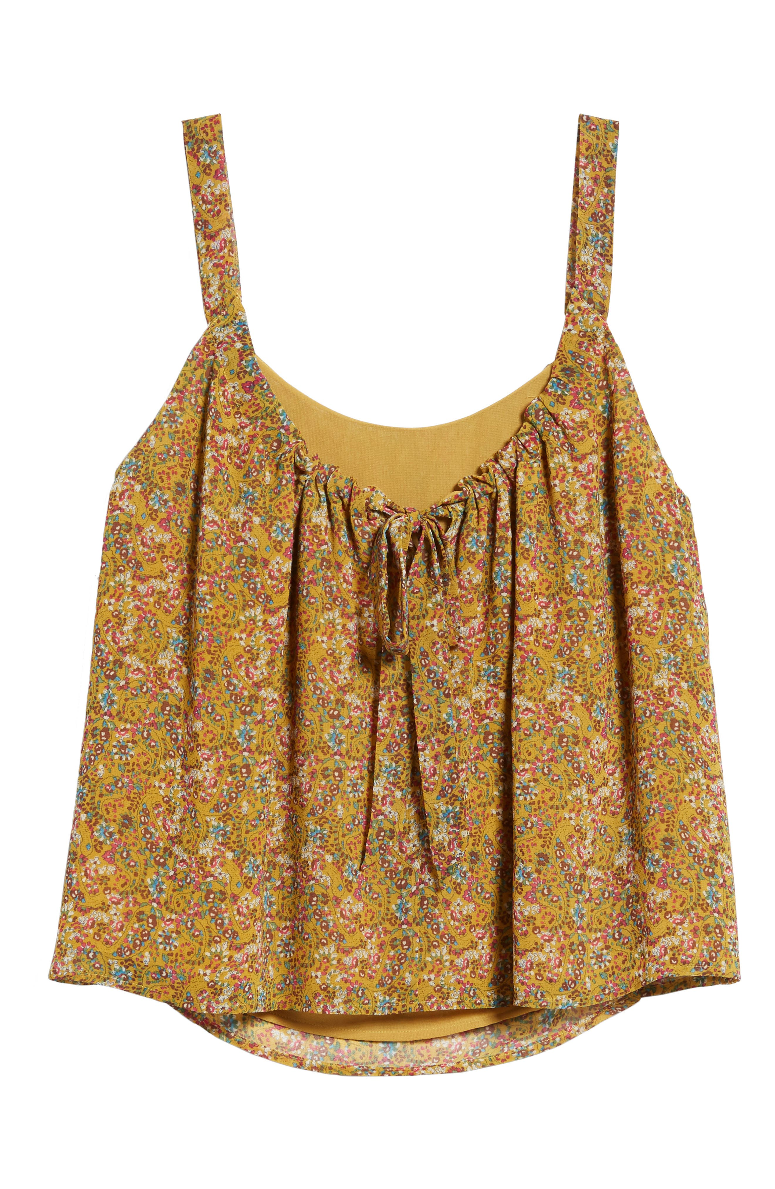 Madison Floral Top,                             Alternate thumbnail 7, color,                             798
