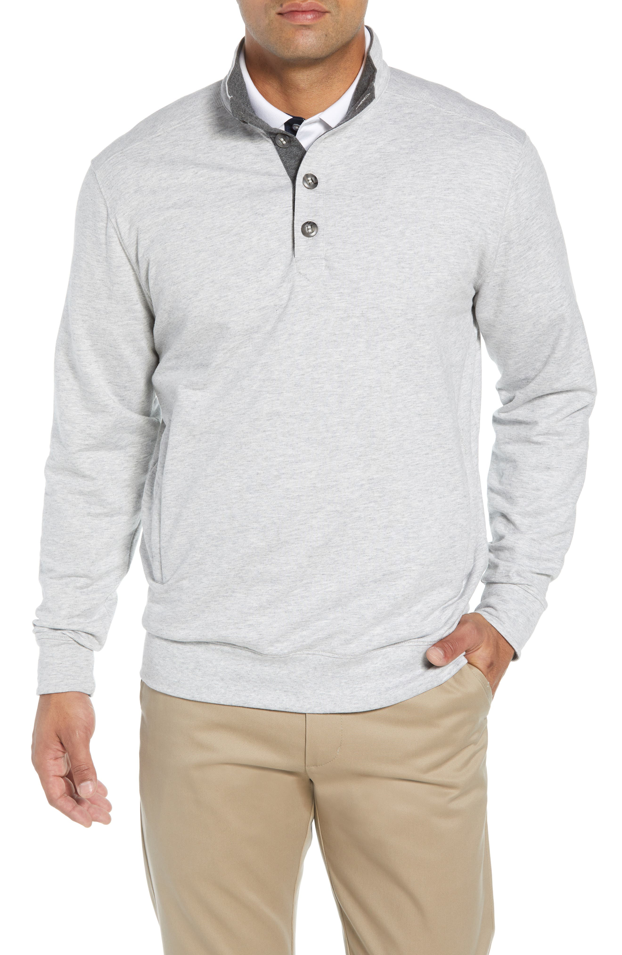 Clubhouse Pullover,                         Main,                         color, GREY