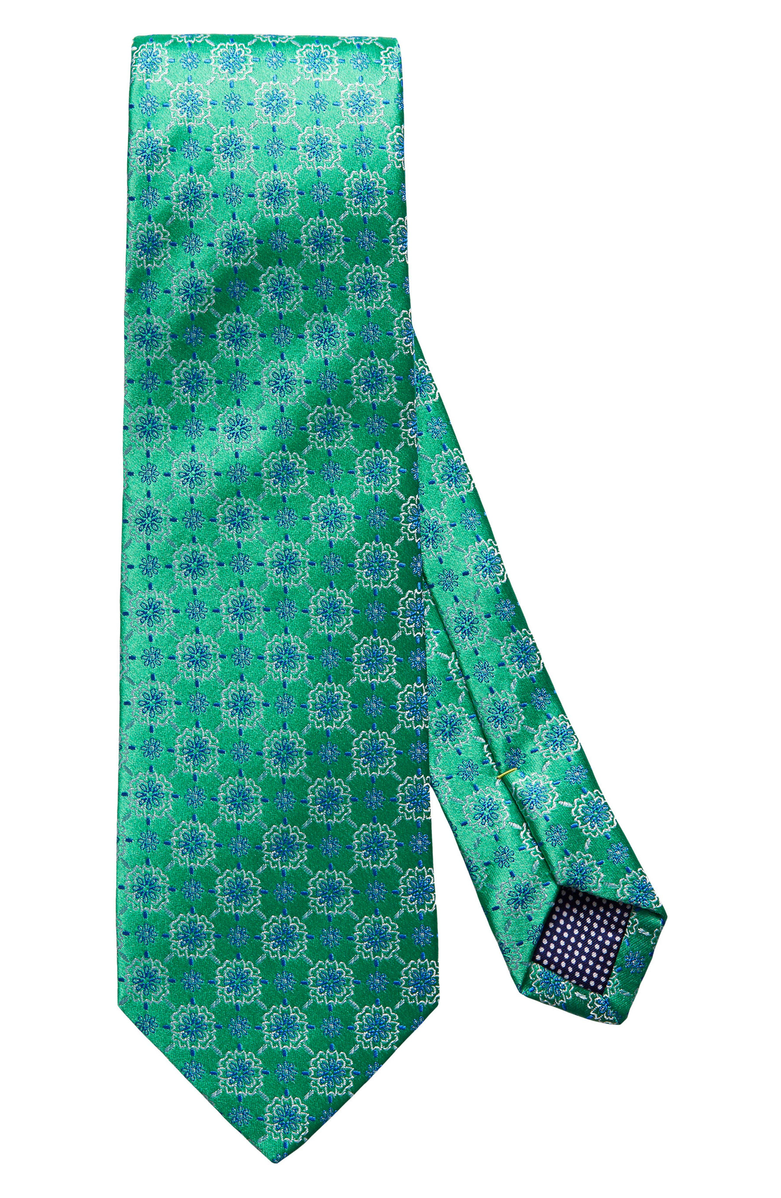 Medallion Silk Tie,                         Main,                         color, 300