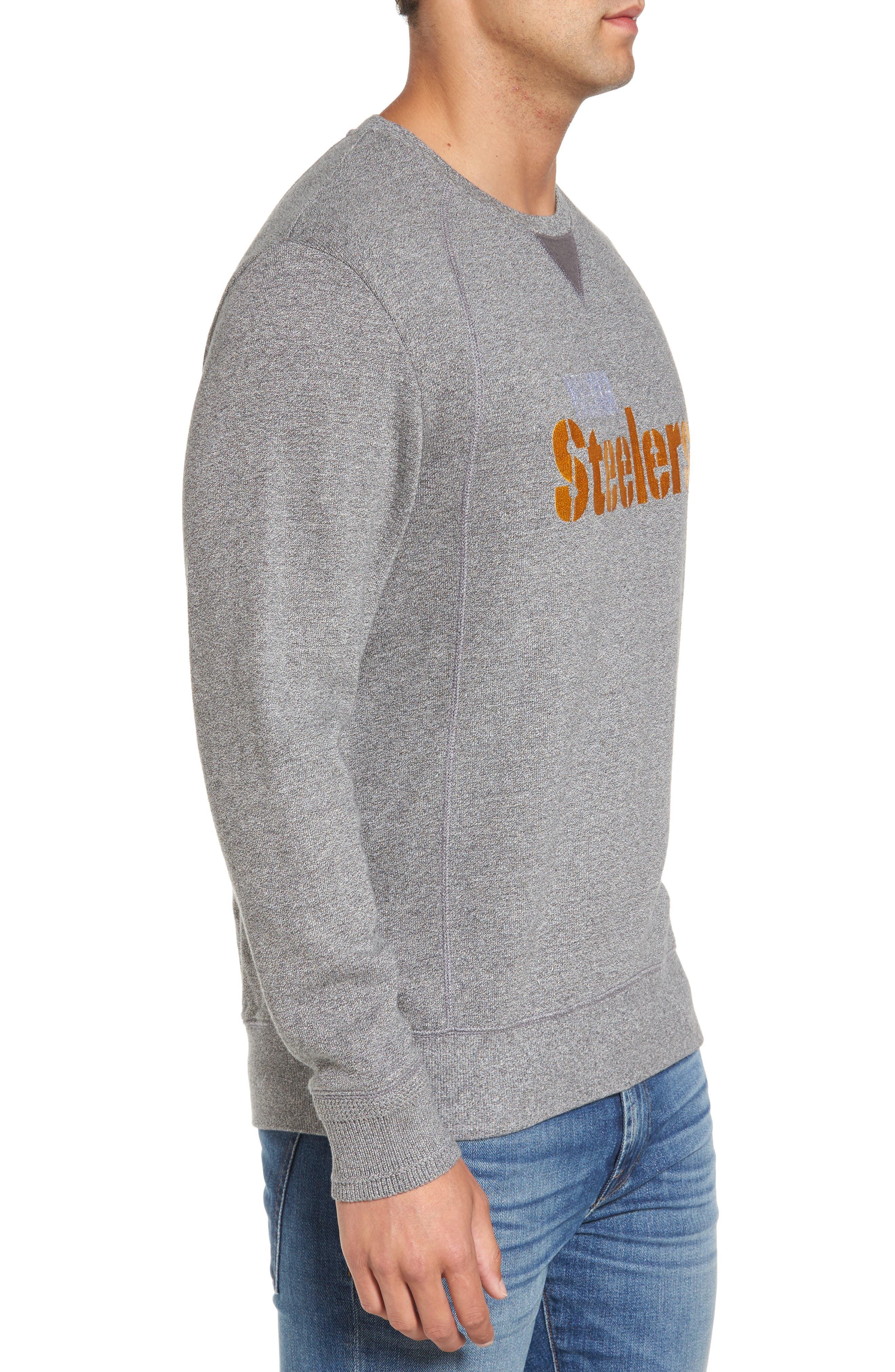 NFL Stitch of Liberty Embroidered Crewneck Sweatshirt,                             Alternate thumbnail 89, color,