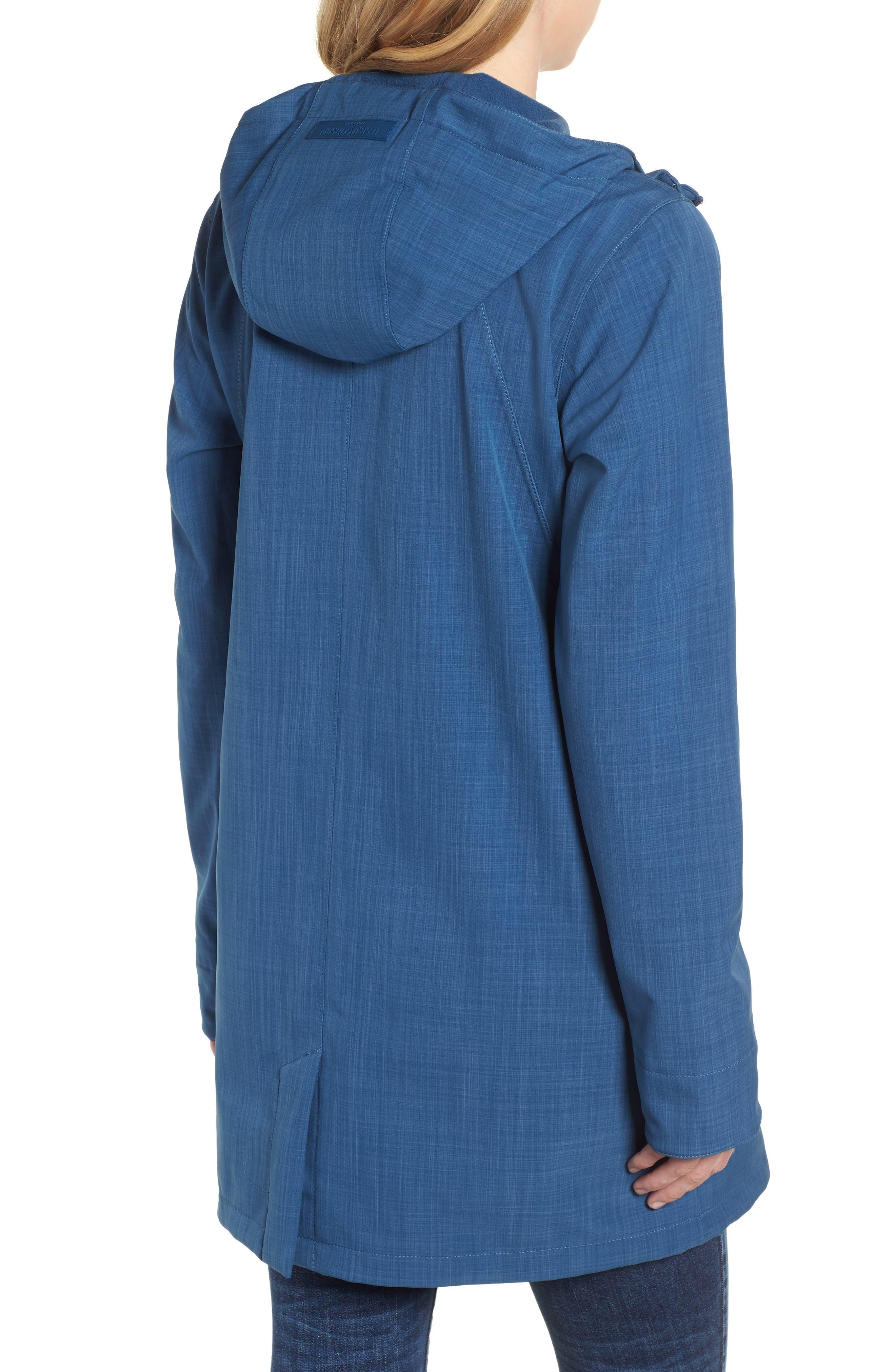 Hooded Raincoat,                             Alternate thumbnail 2, color,                             400