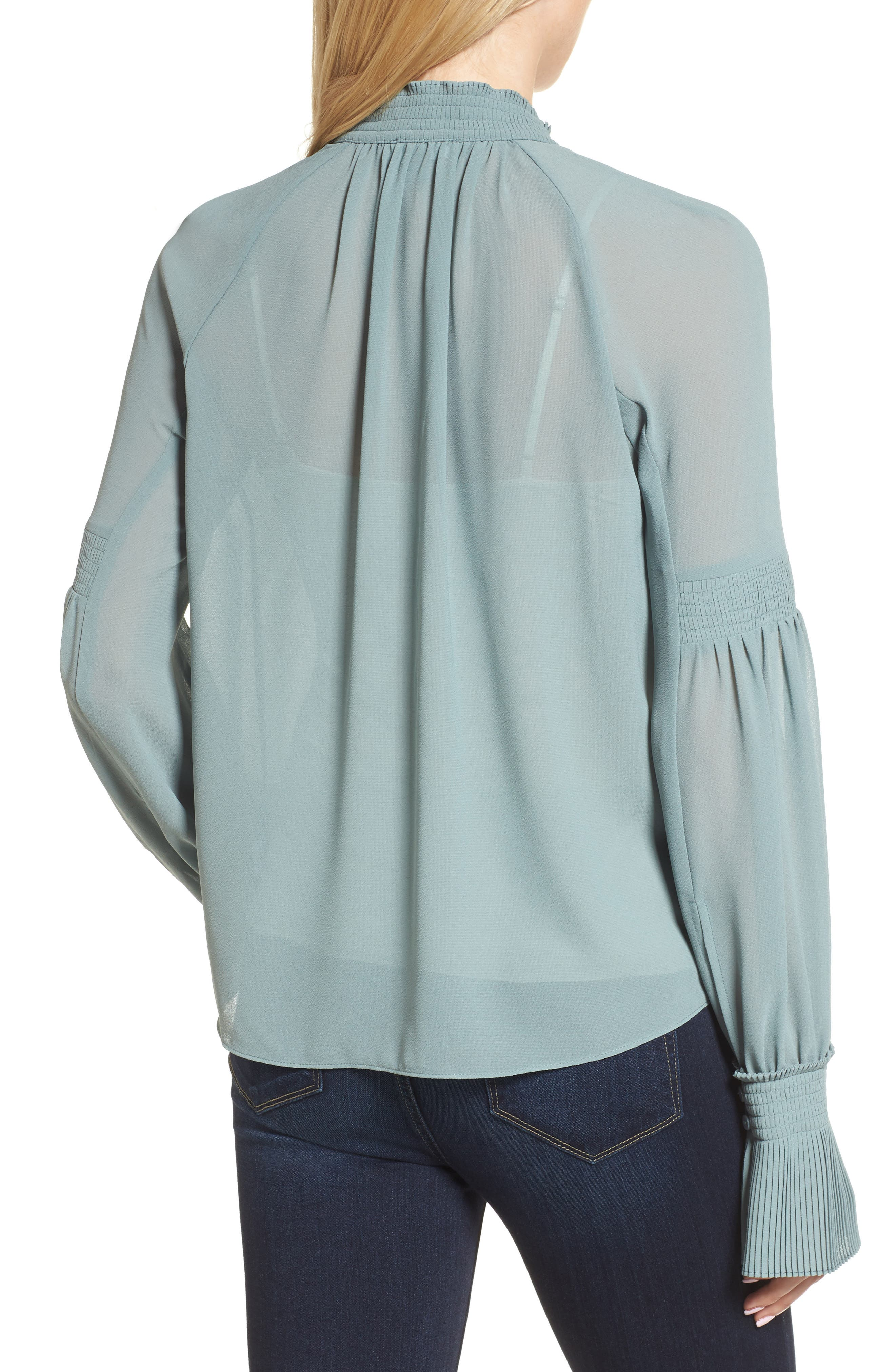 Flare Cuff Top,                             Alternate thumbnail 2, color,                             440