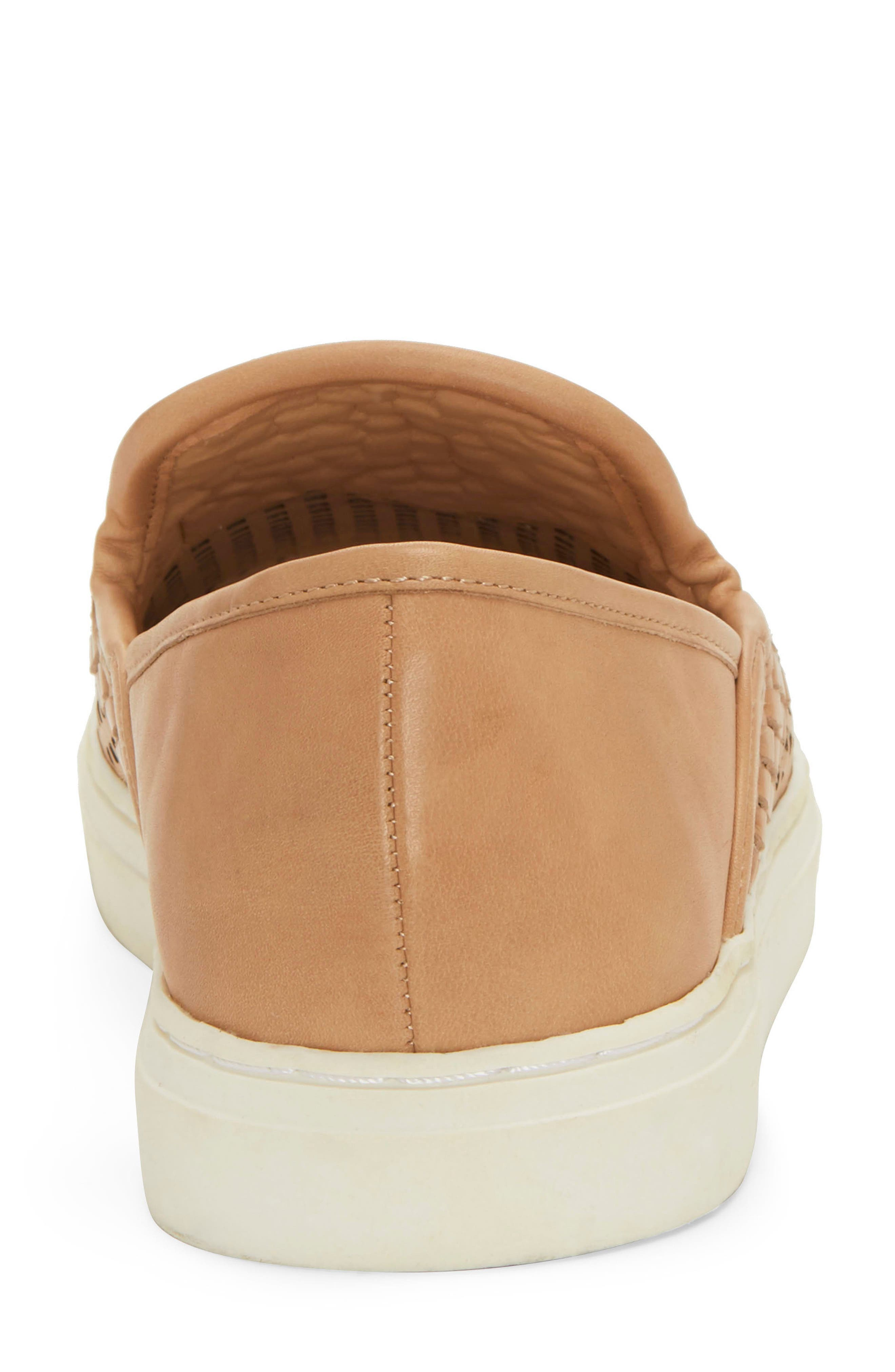 VINCE CAMUTO,                             Bristie Sneaker,                             Alternate thumbnail 7, color,                             NATURAL LEATHER