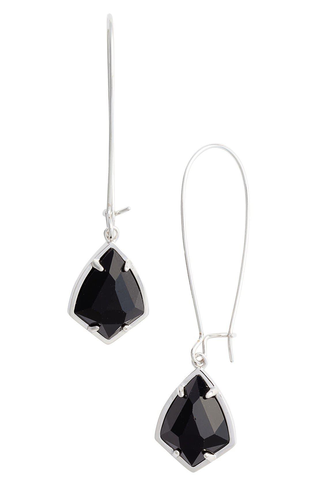 'Carrine' Semiprecious Stone Drop Earrings,                             Main thumbnail 5, color,