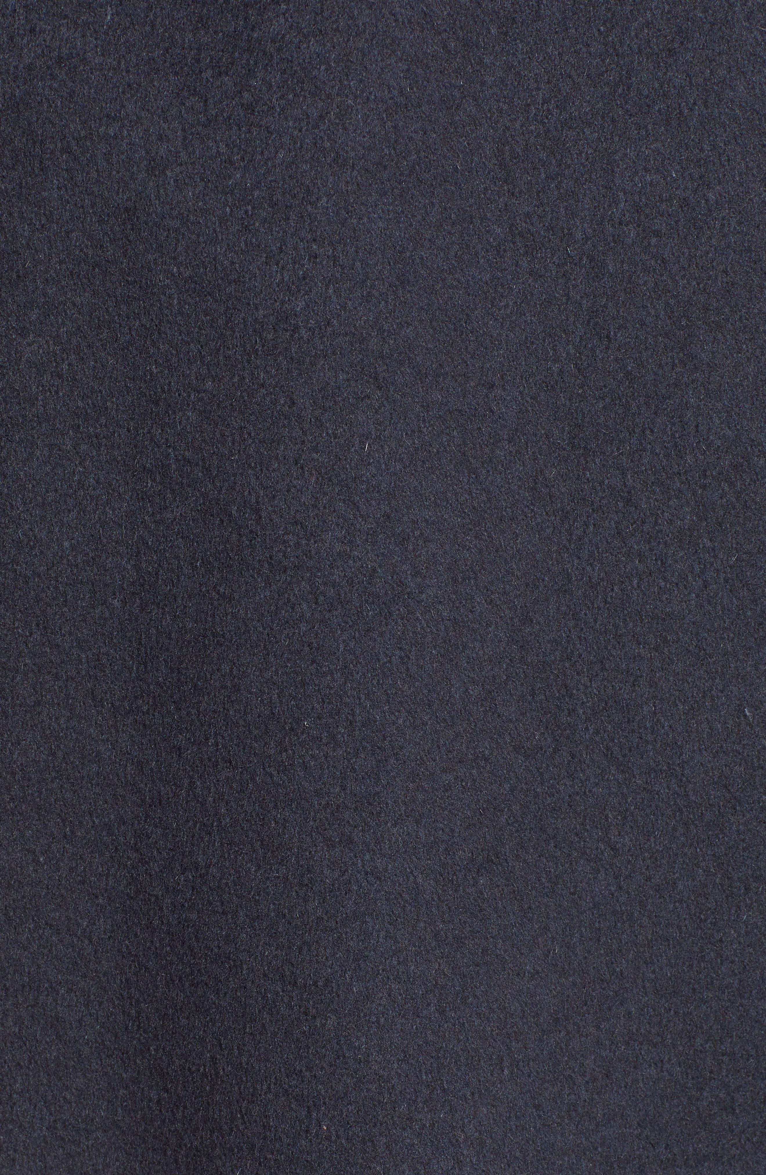 Ellie Double Face Wool Blend Wrap Coat,                             Alternate thumbnail 7, color,                             020