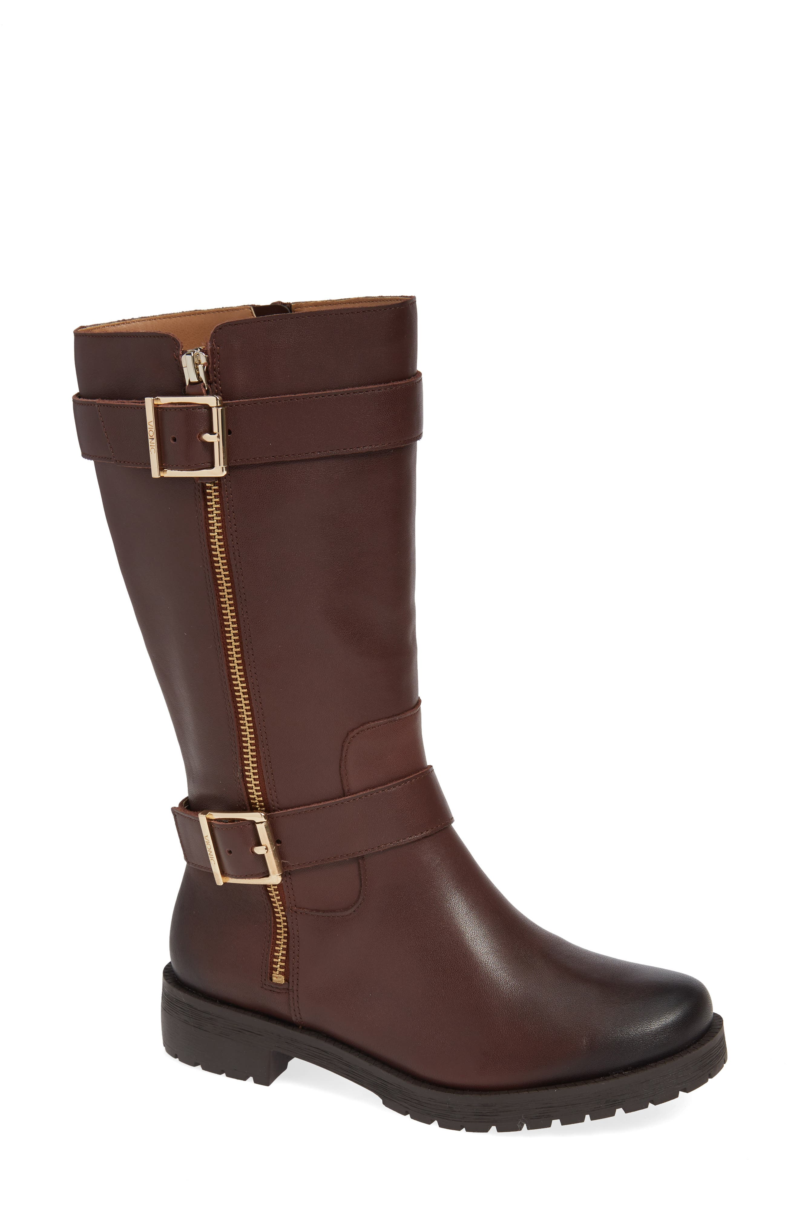 Marlow Boot,                             Main thumbnail 1, color,                             CHOCOLATE LEATHER