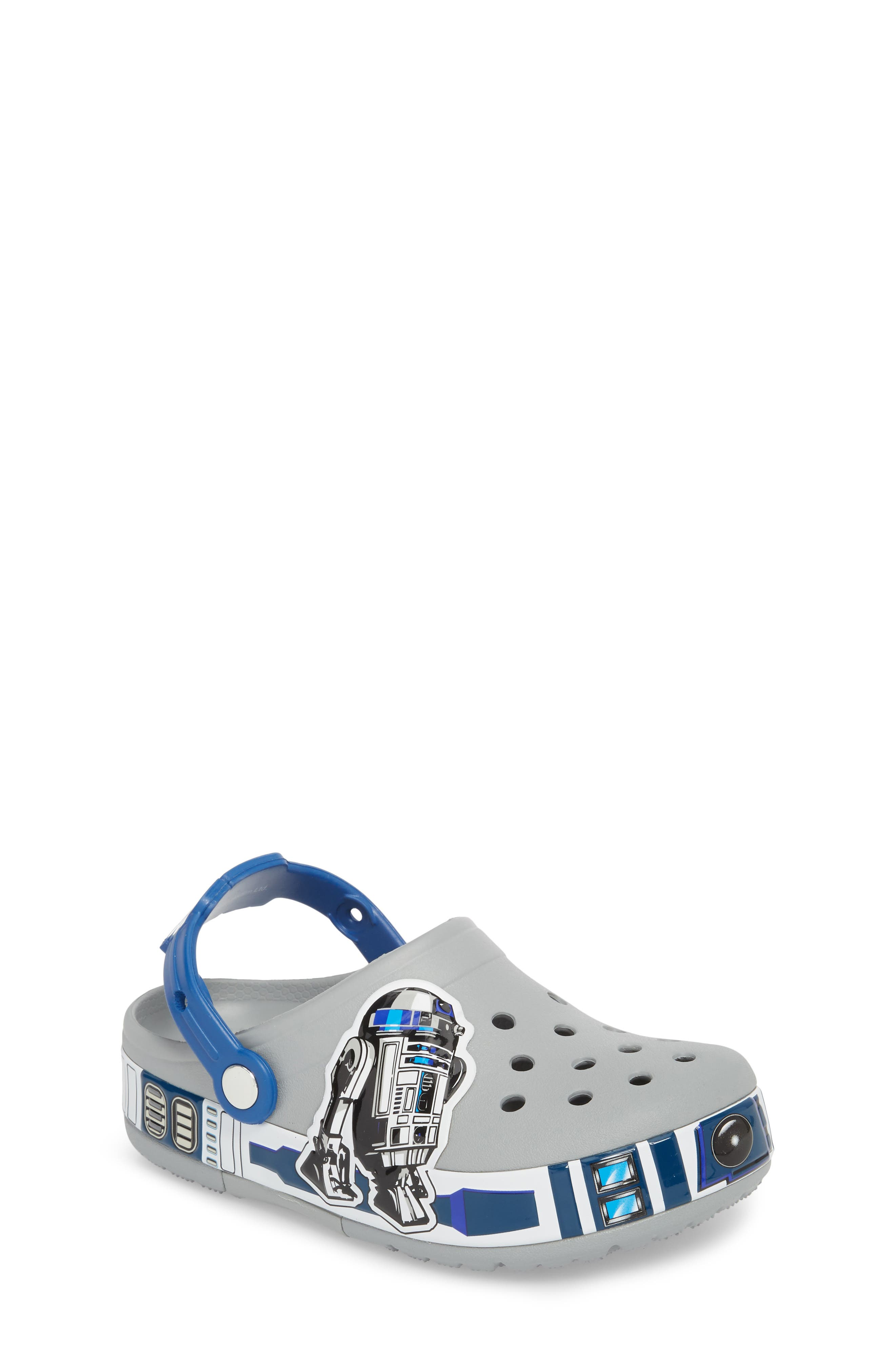Fun Lab Light-Up Star Wars<sup>®</sup> R2D2<sup>®</sup> Slip-On,                             Main thumbnail 1, color,                             025