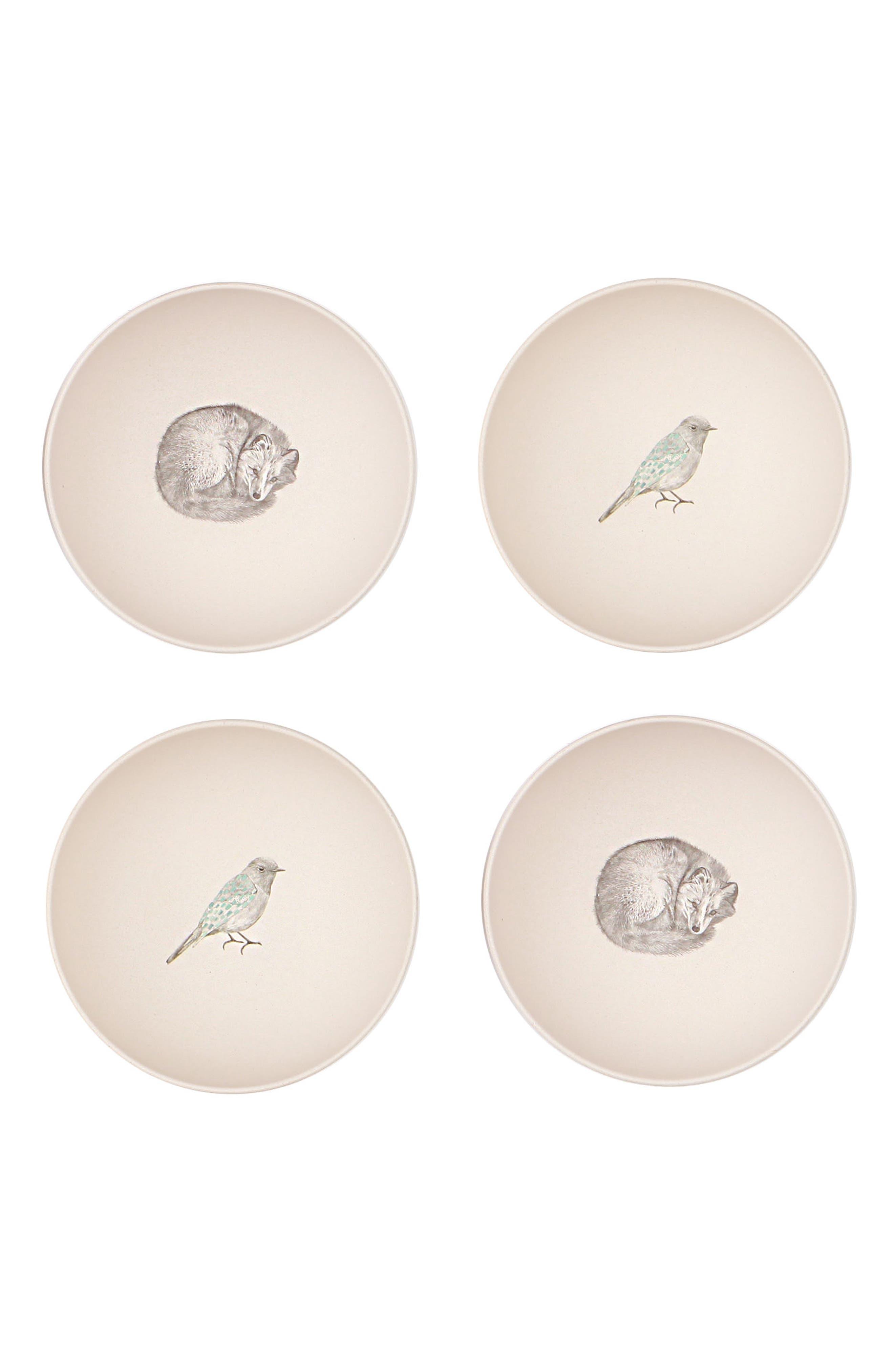 4-Pack Bowls,                             Main thumbnail 1, color,
