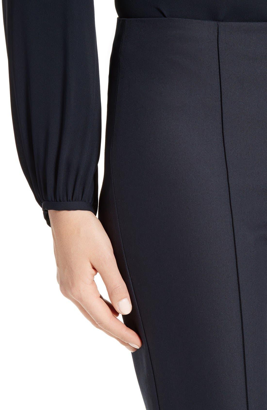 Alettah Stretch Skinny Pants,                             Alternate thumbnail 9, color,                             001