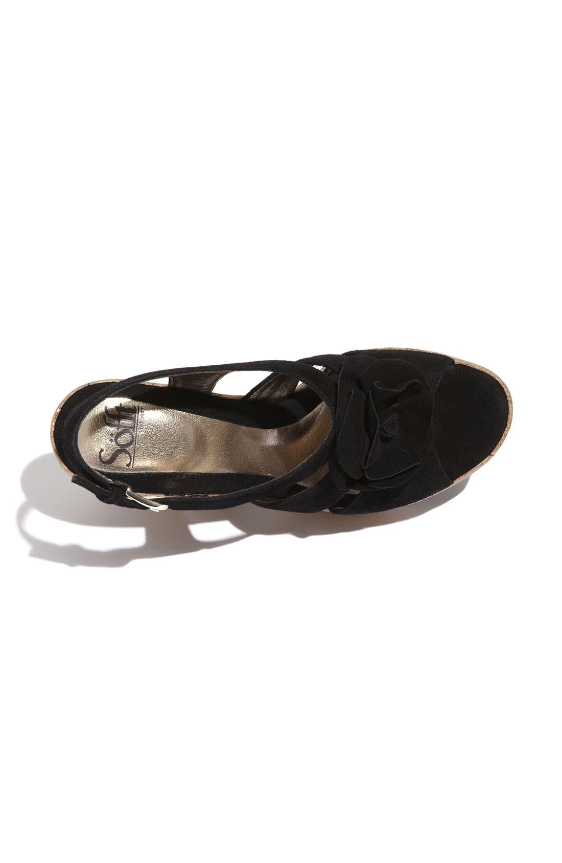 'Odelle' Sandal,                             Alternate thumbnail 4, color,