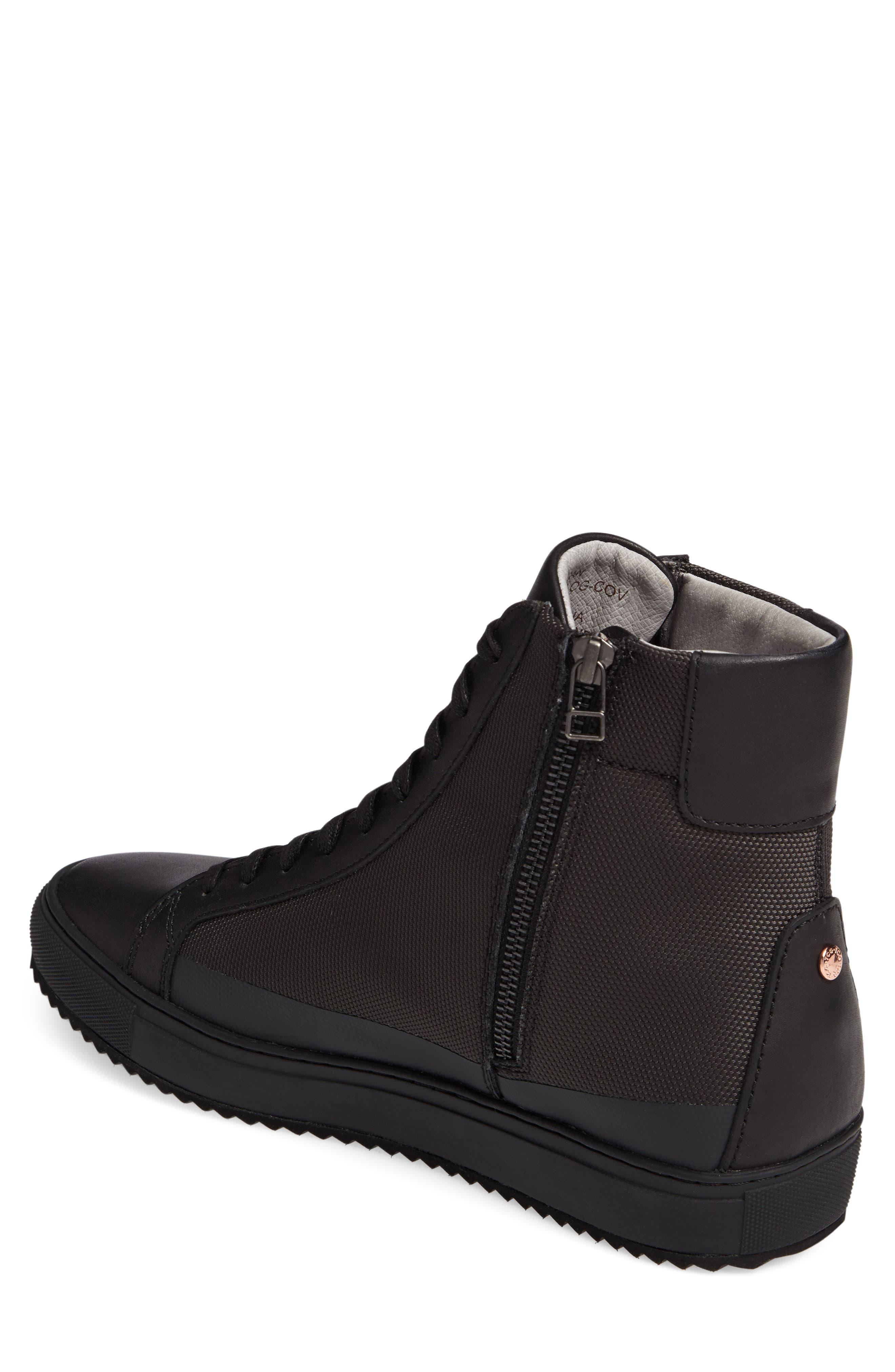 Logan Water Resistant High Top Sneaker,                             Alternate thumbnail 10, color,