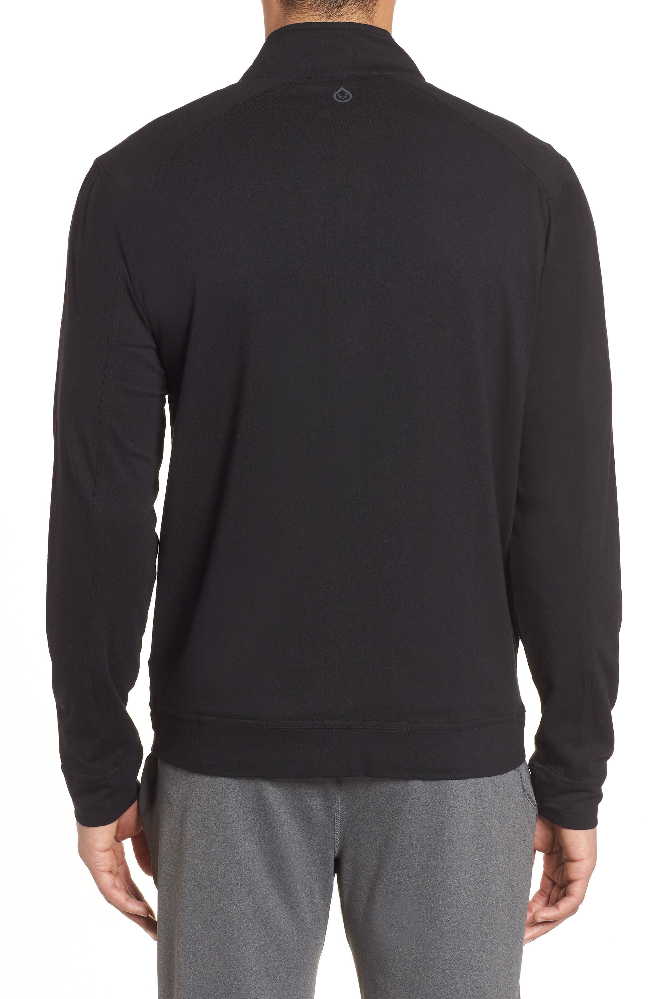 Carrollton Zip Jacket,                             Alternate thumbnail 2, color,                             BLACK