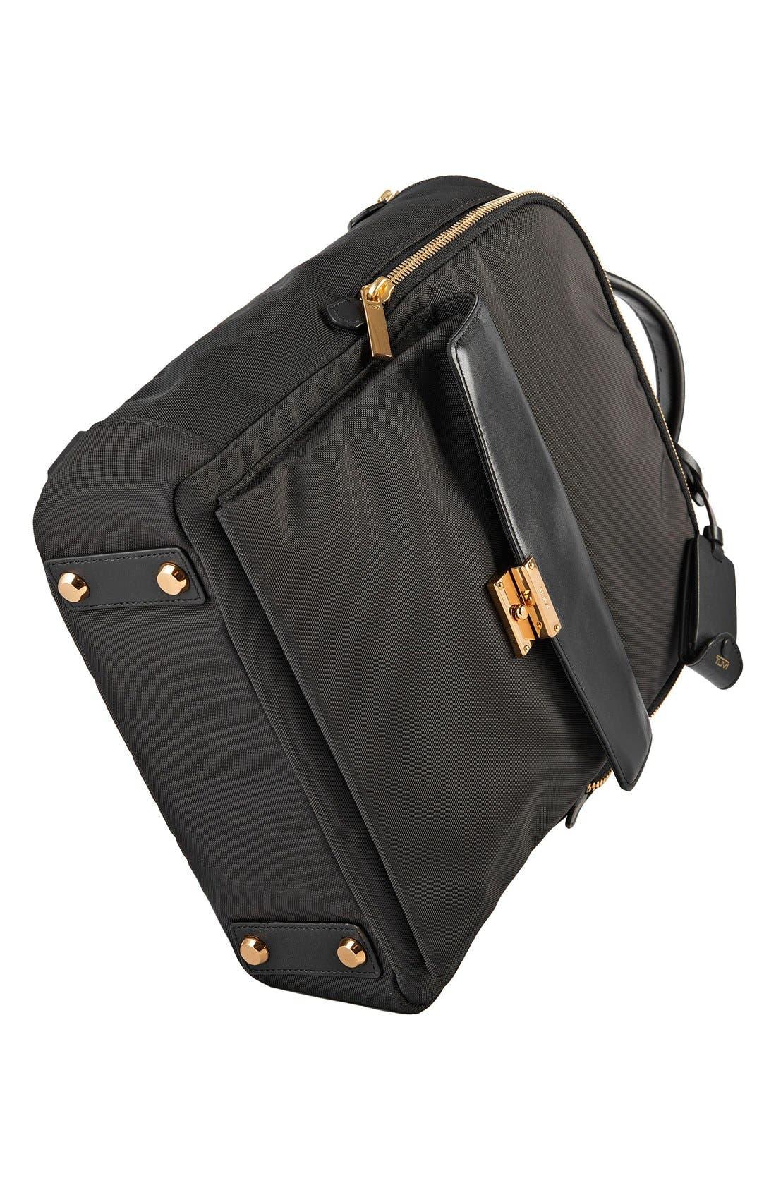 'Larkin Laurel' Nylon Commuter Backpack,                             Alternate thumbnail 3, color,                             001