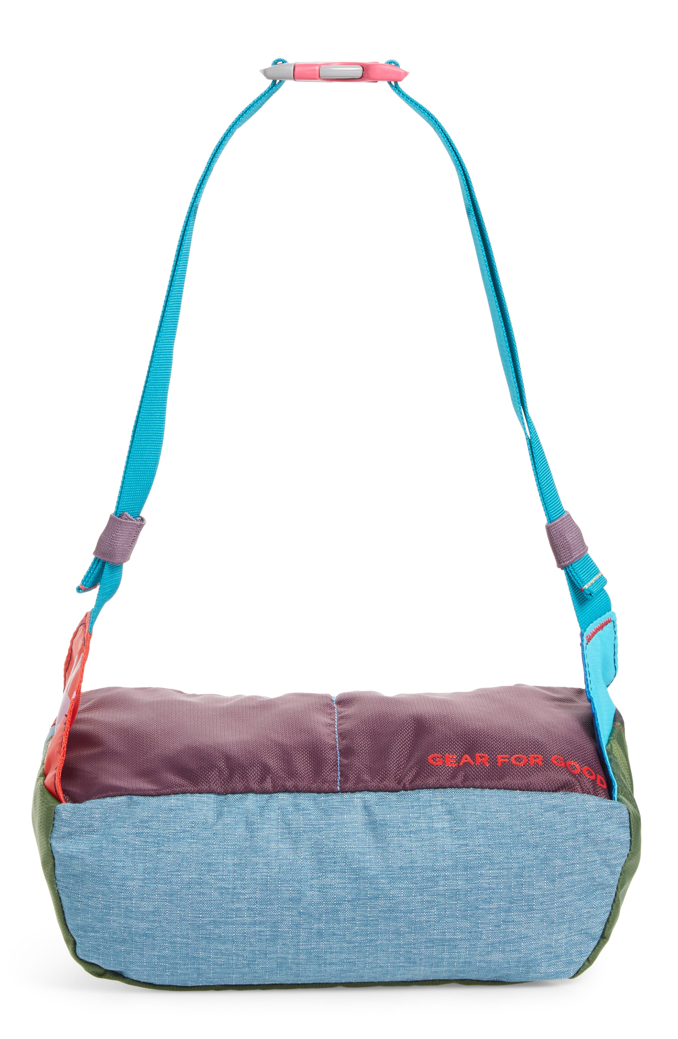 Bataan One of a Kind Duffel Fanny Pack,                             Alternate thumbnail 6, color,