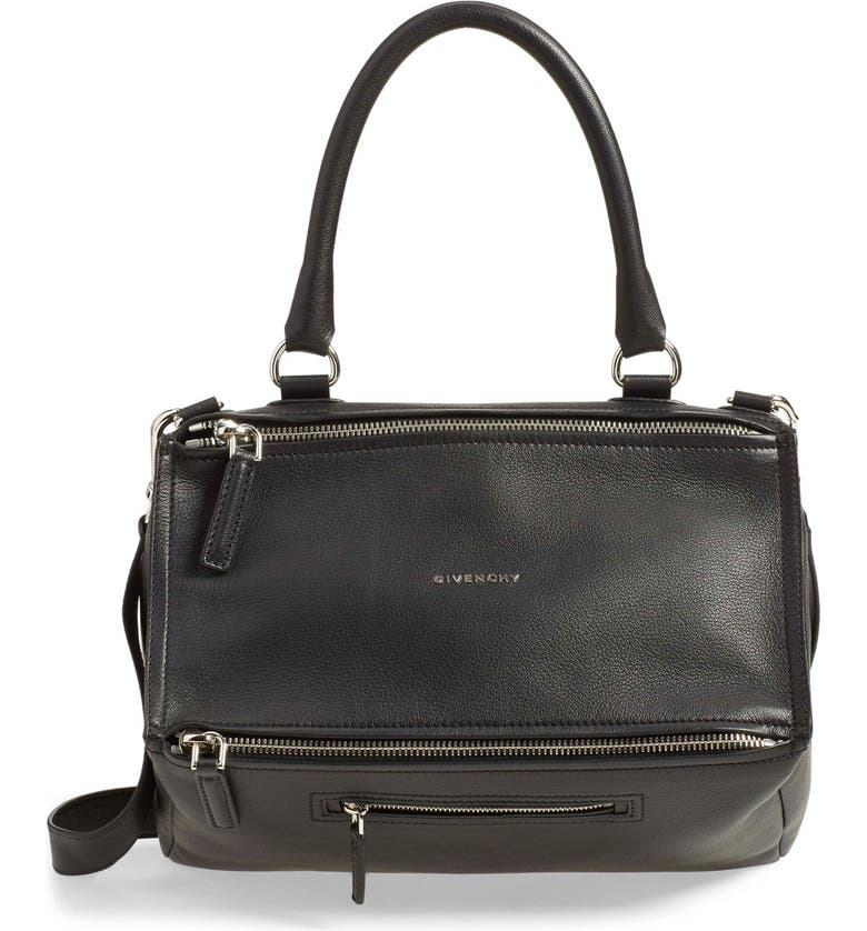 477be447c31f Givenchy  Medium Pandora  Sugar Leather Satchel