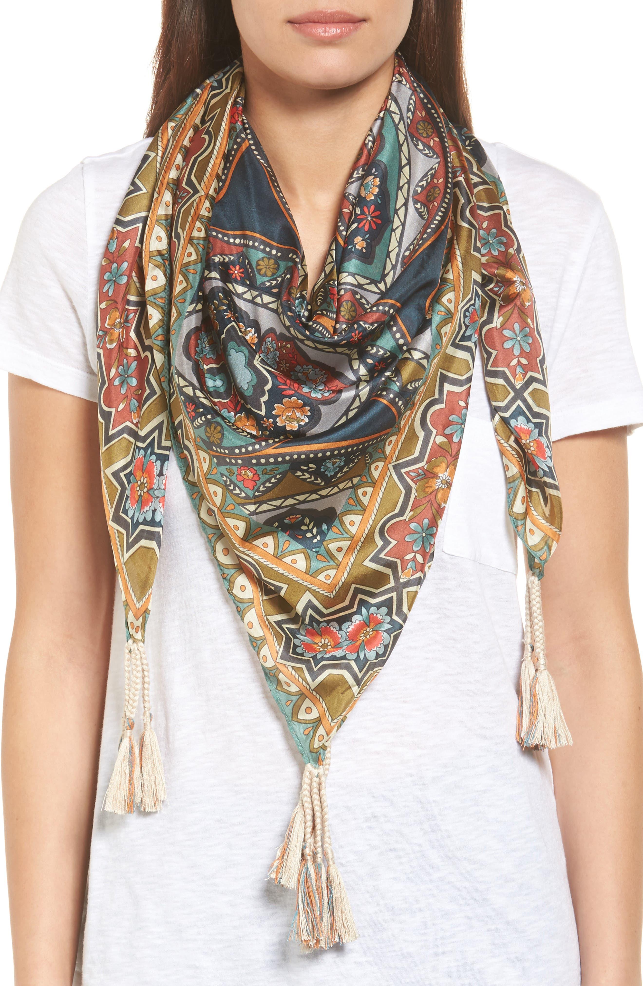 Spezia Silk Scarf,                         Main,                         color, 400