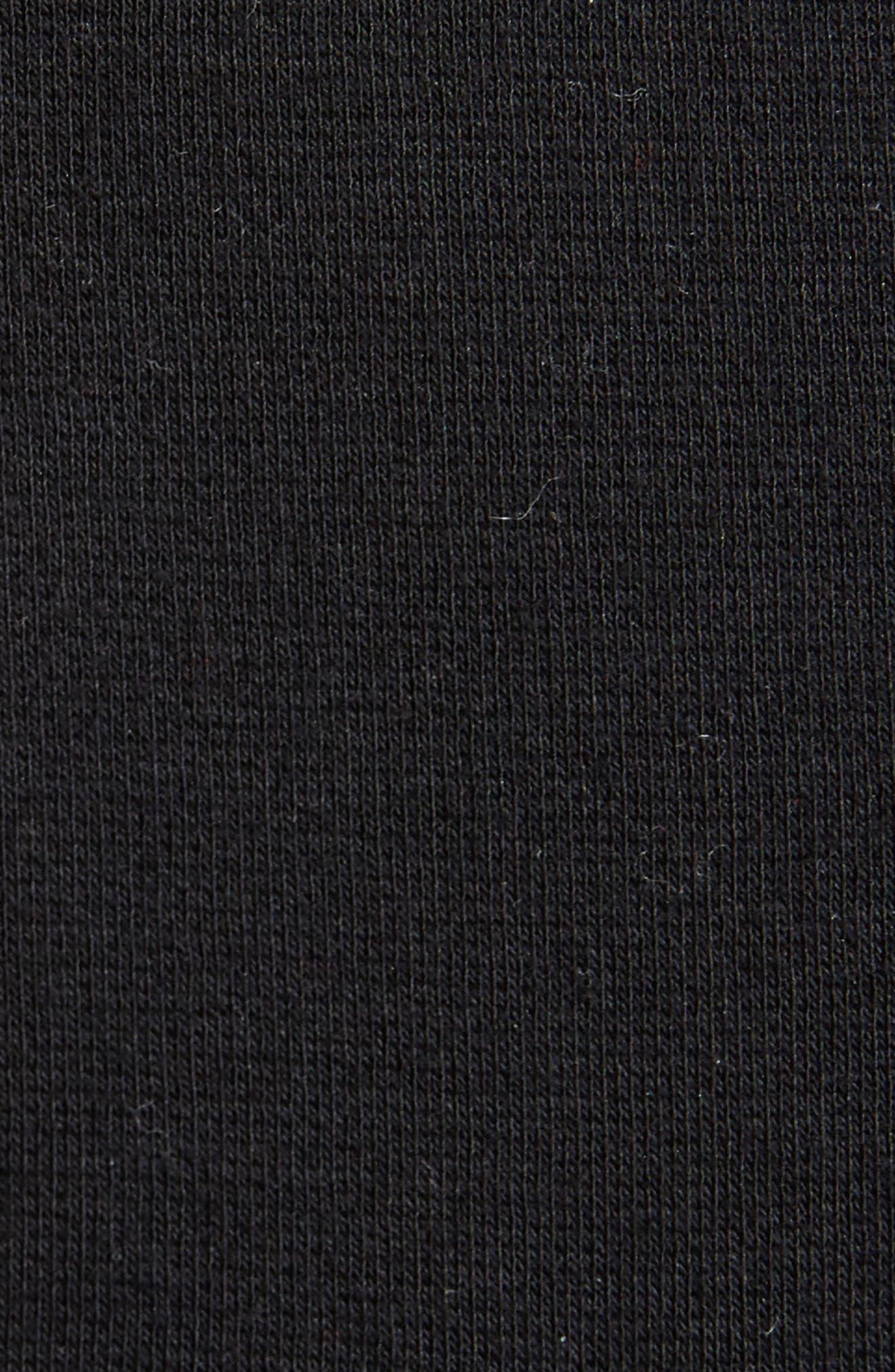 Asymmetrical Jersey Top,                             Alternate thumbnail 5, color,                             001