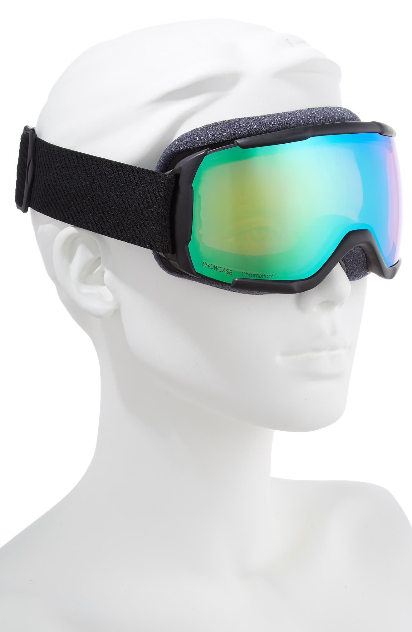 Showcase Over the Glass ChromaPop<sup>™</sup> 182mm Goggles,                             Alternate thumbnail 2, color,                             BLACK