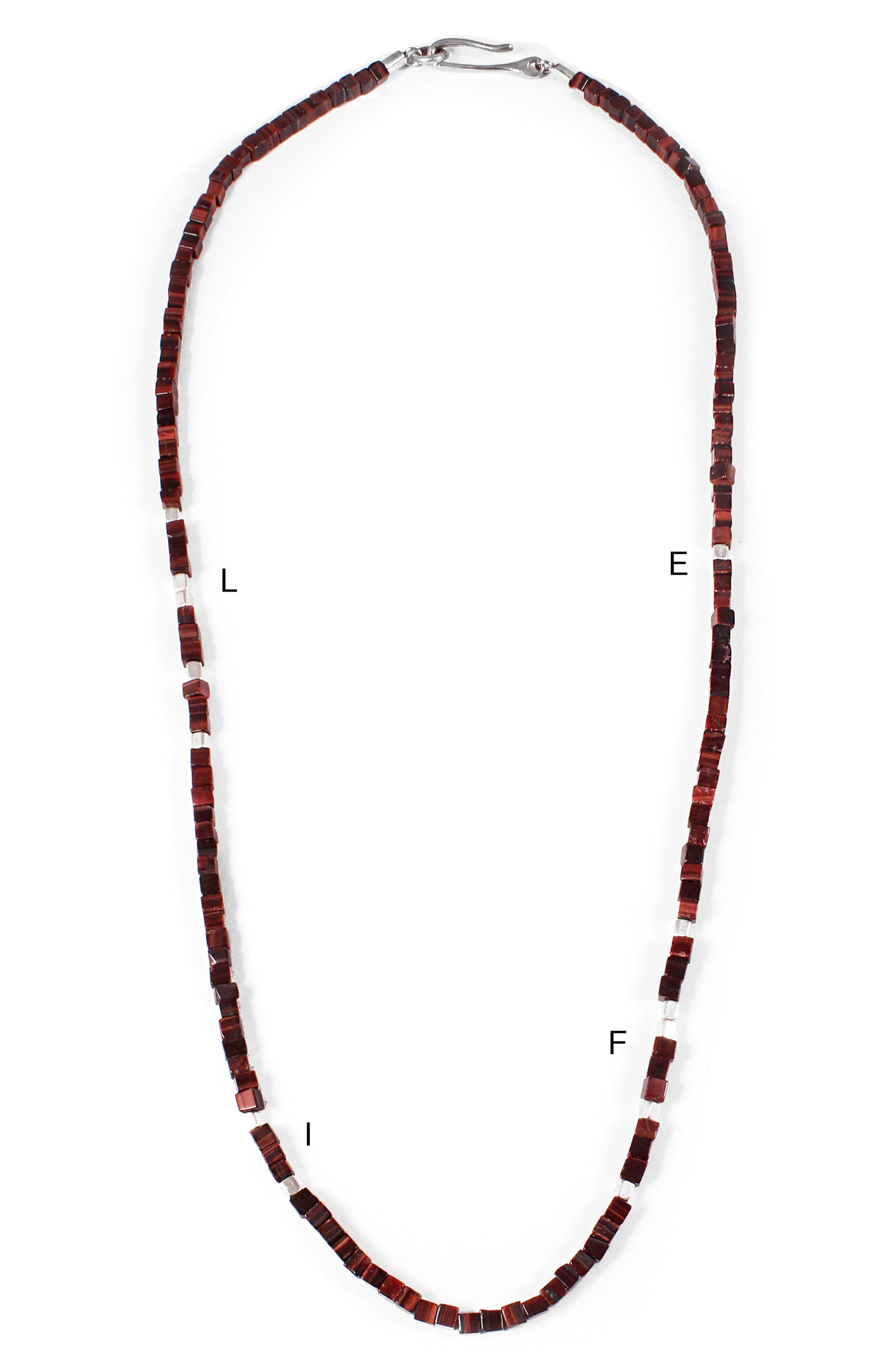 Life Morse Beaded Necklace,                             Alternate thumbnail 2, color,                             440
