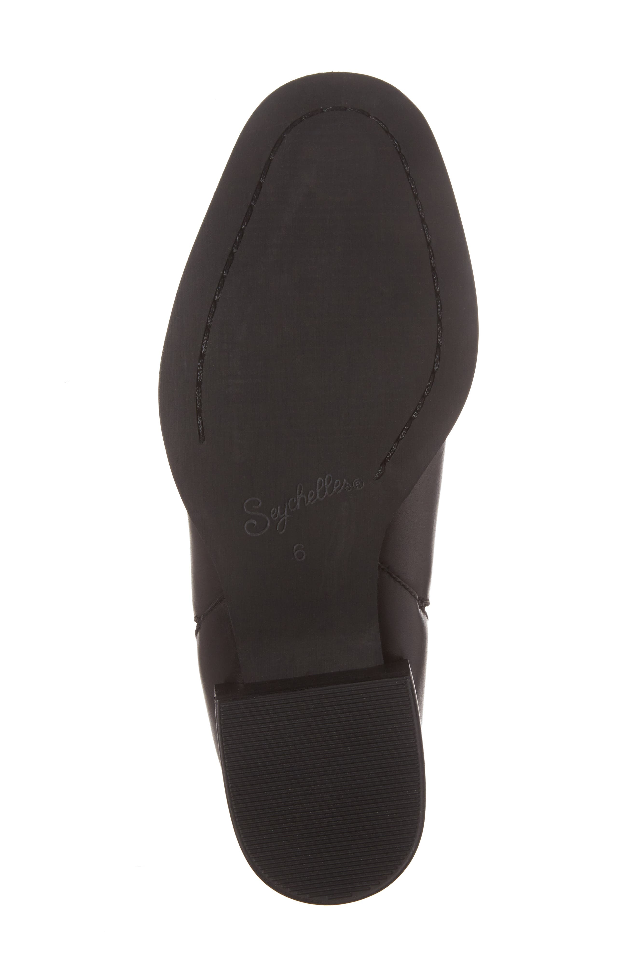 Offstage Boot,                             Alternate thumbnail 6, color,                             BLACK LEATHER