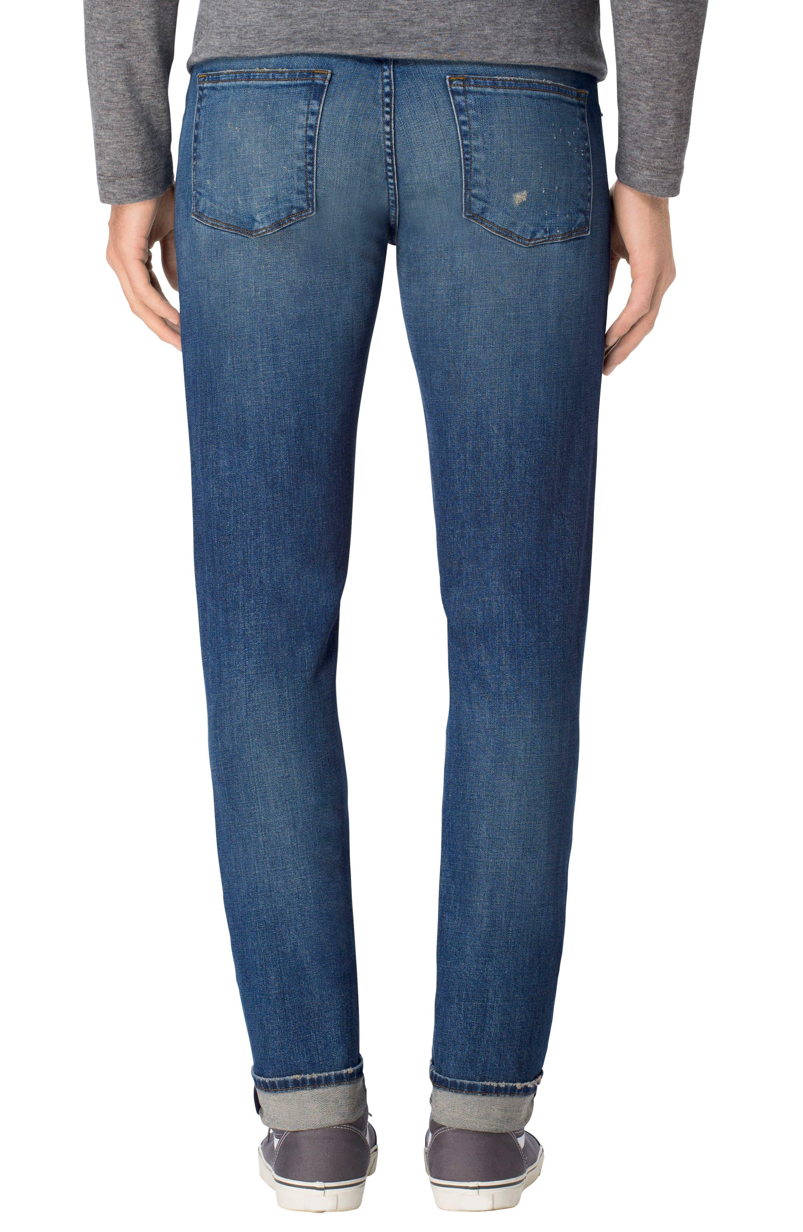 Tyler Slim Fit Jeans,                             Alternate thumbnail 2, color,                             400