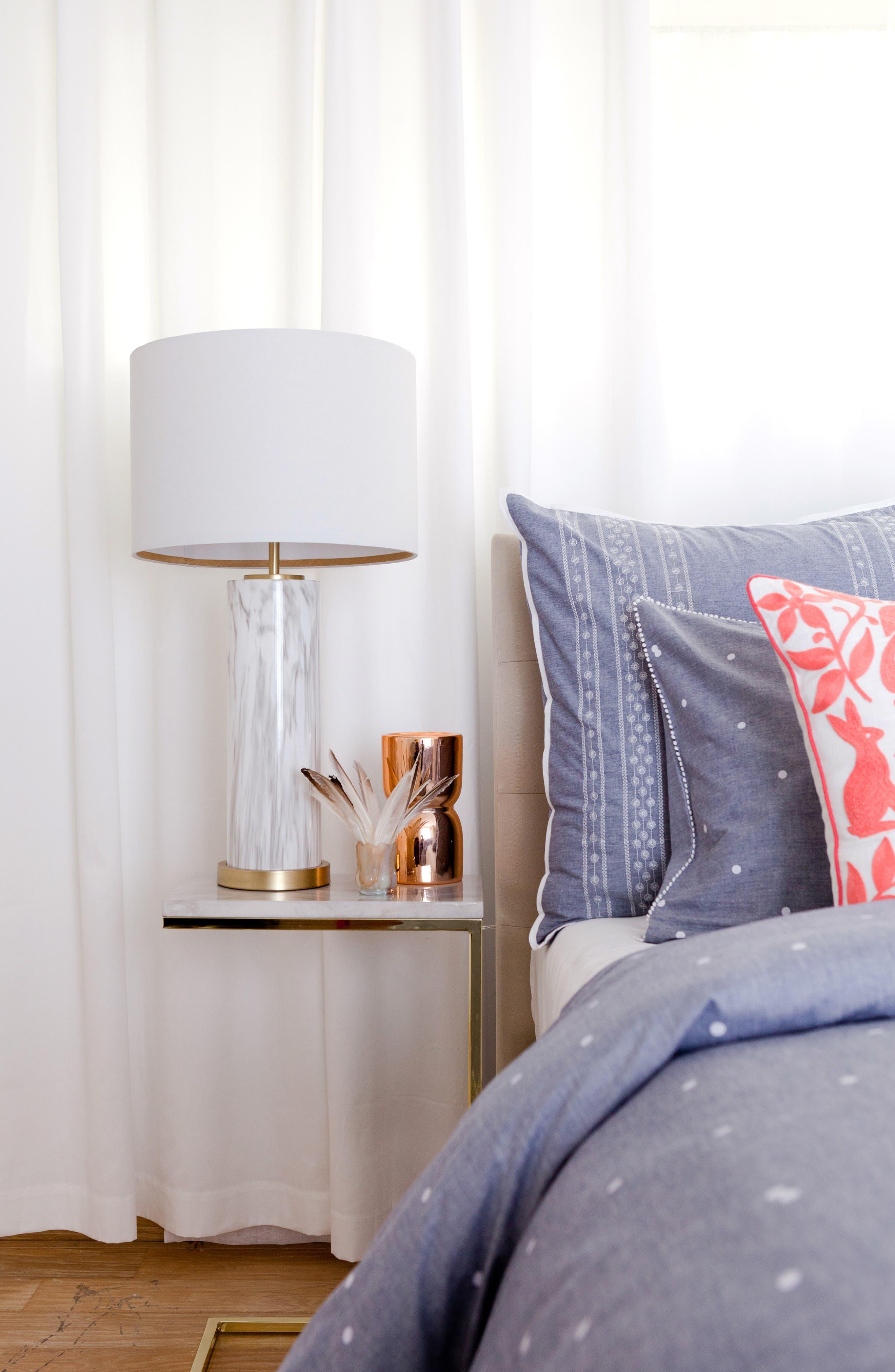 Marble Column Table Lamp,                             Alternate thumbnail 3, color,