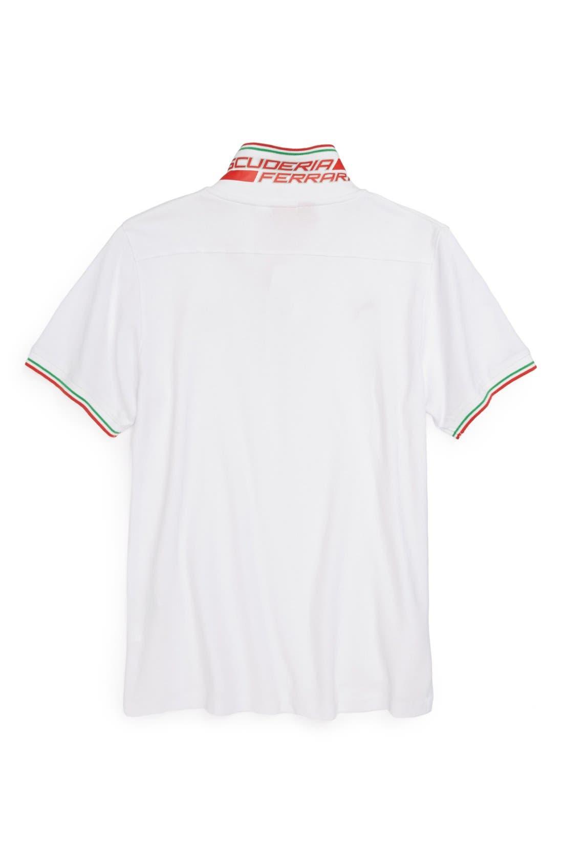 'Ferrari' Polo,                             Alternate thumbnail 2, color,                             100