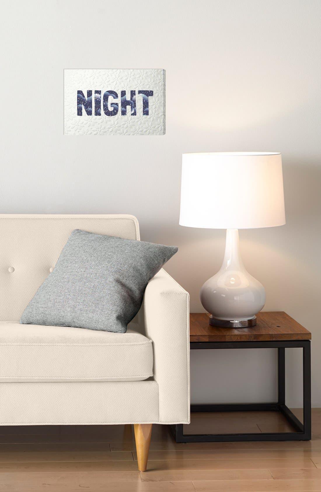 'Night Blue' Wall Art,                             Alternate thumbnail 2, color,                             400
