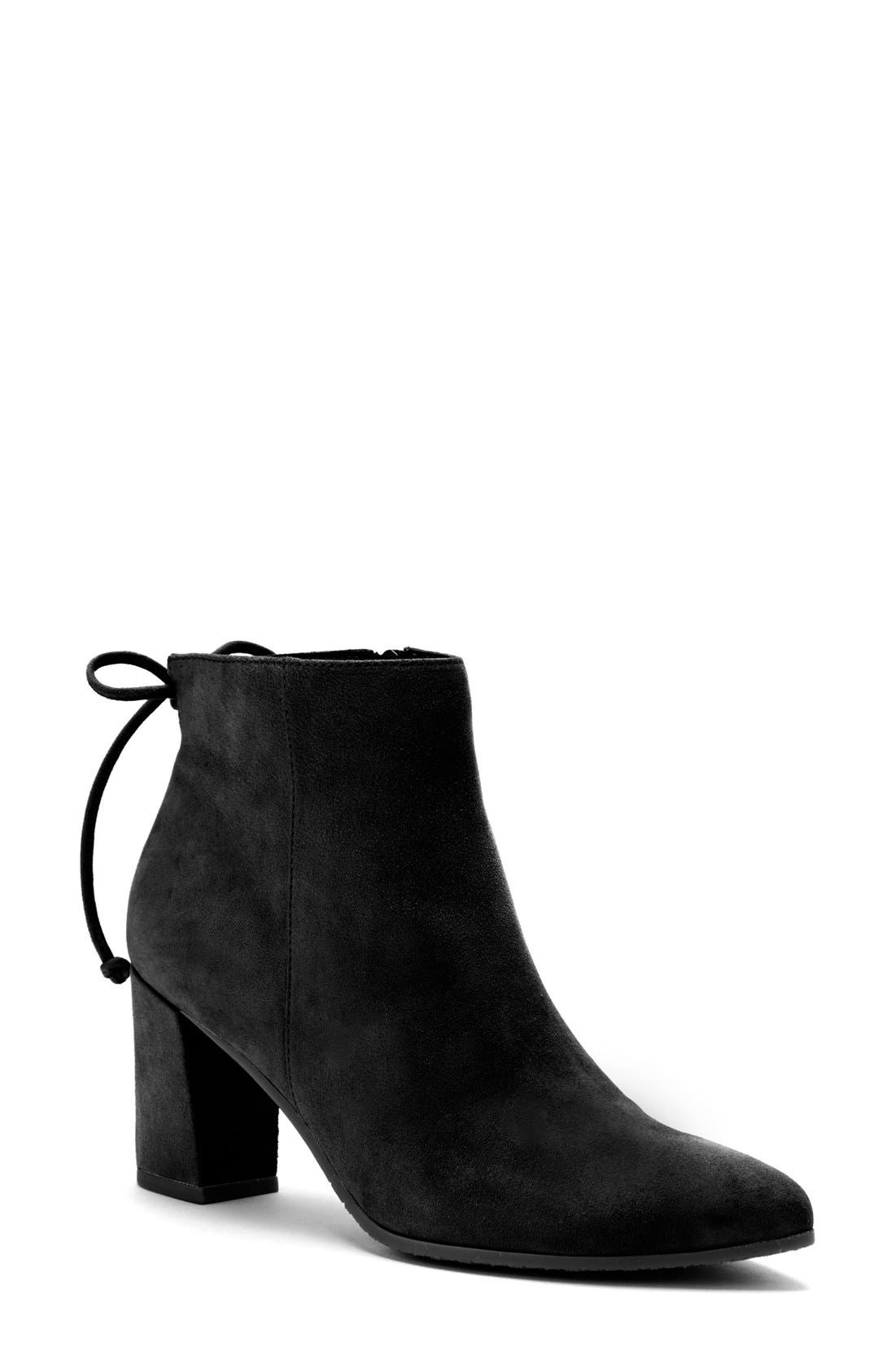 Tiana Waterproof Pointy Toe Bootie,                             Main thumbnail 1, color,