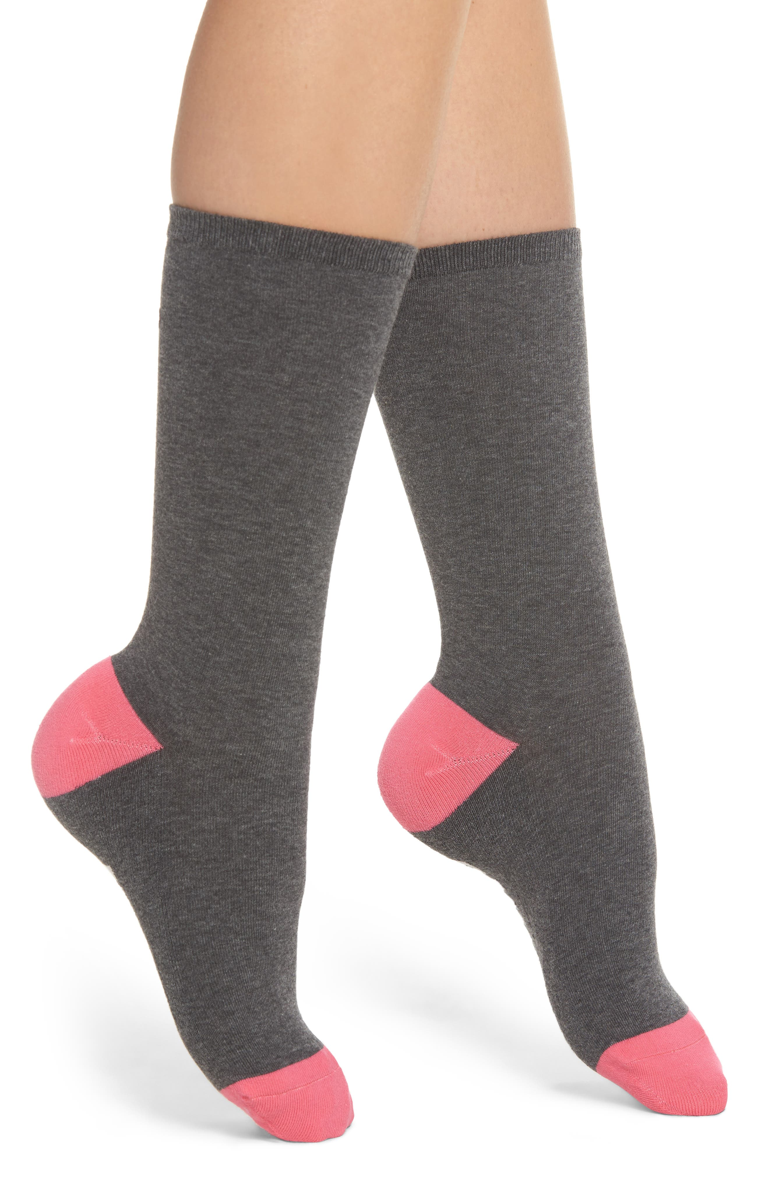 Keep Vibing Crew Socks,                             Main thumbnail 1, color,