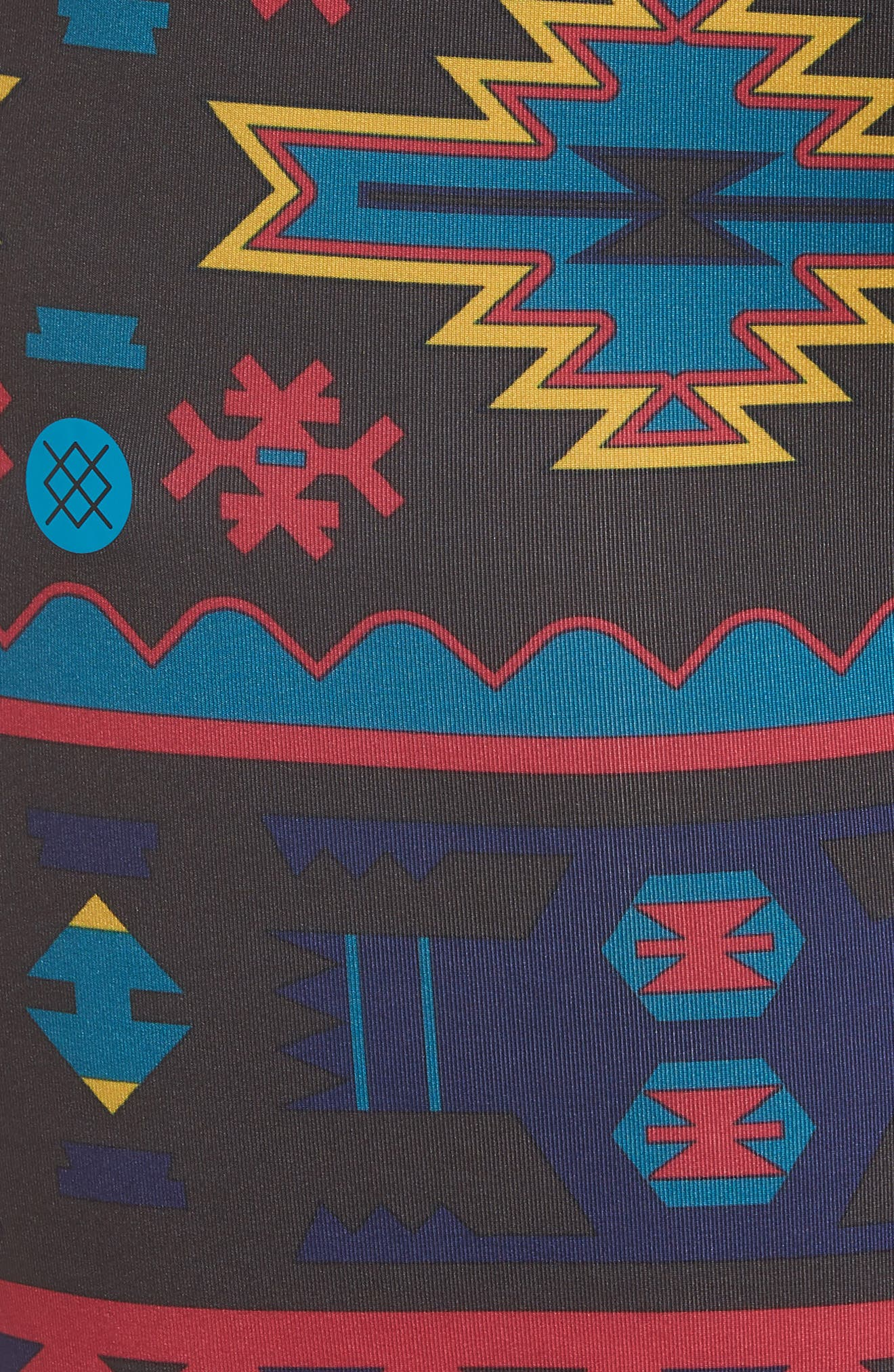 Station Patterned Boxer Briefs,                             Alternate thumbnail 5, color,                             BLACK