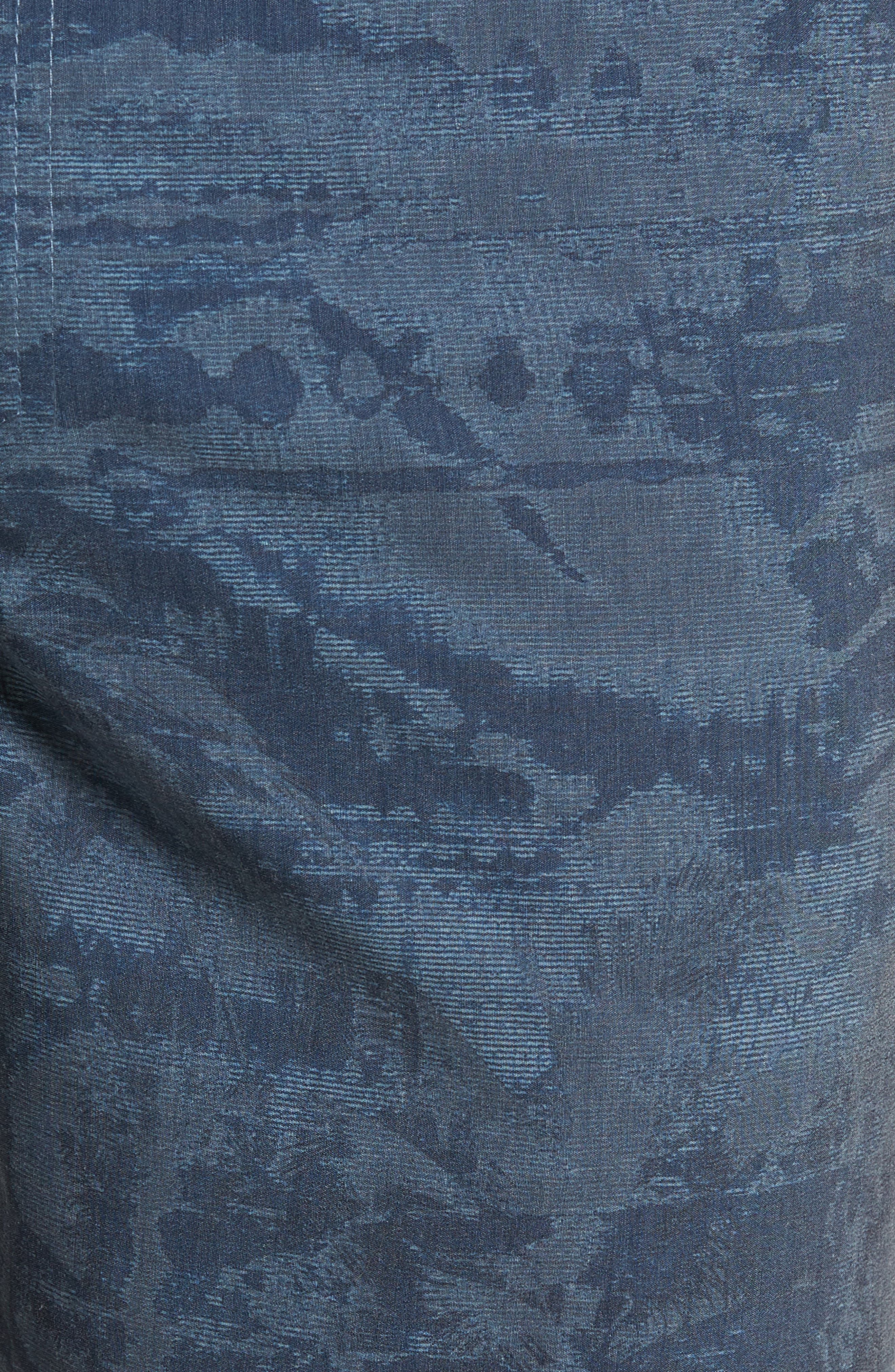 Mixed Hybrid Shorts,                             Alternate thumbnail 5, color,                             NAVY